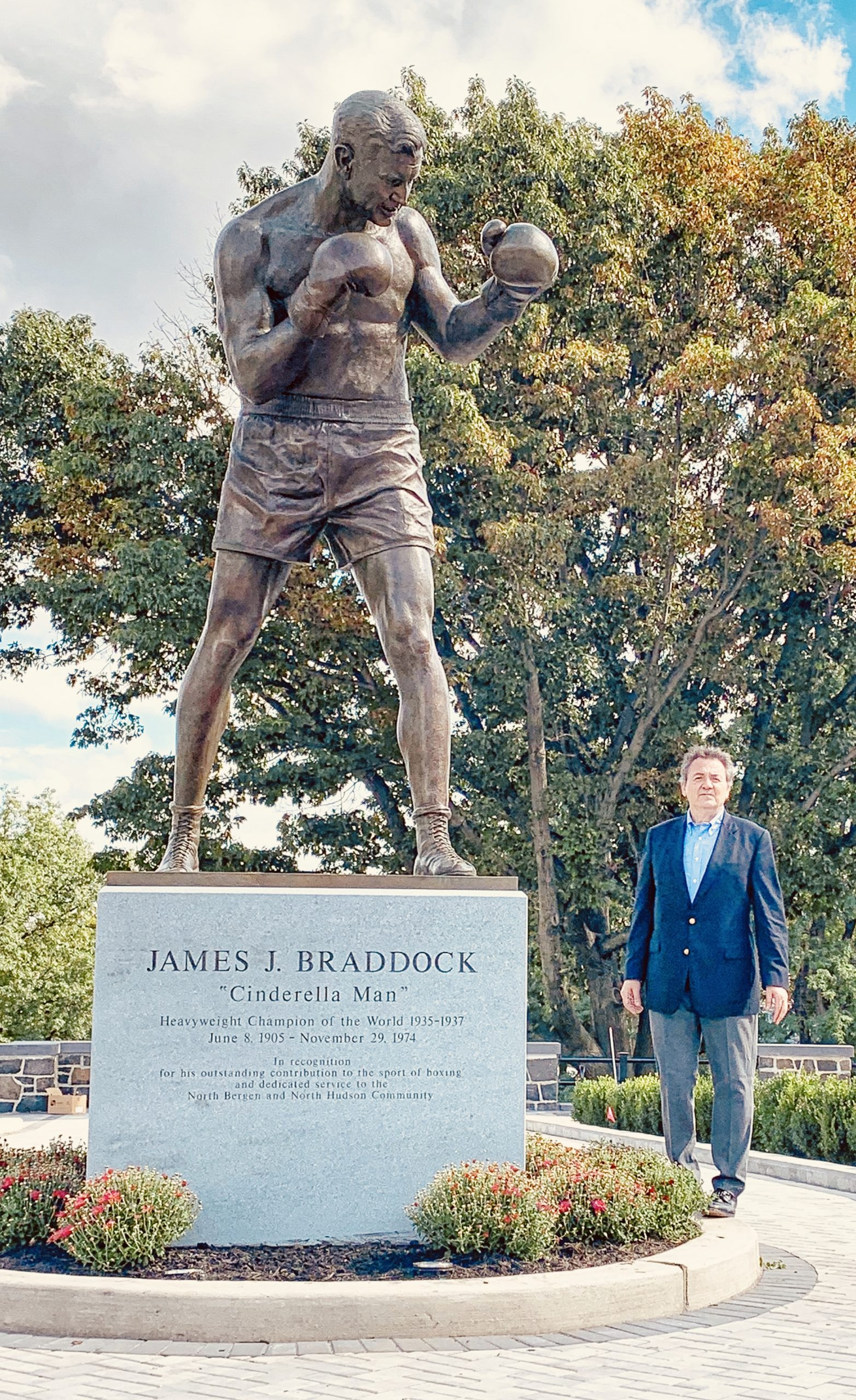 "James J. Braddock ""Cinderella Man"""