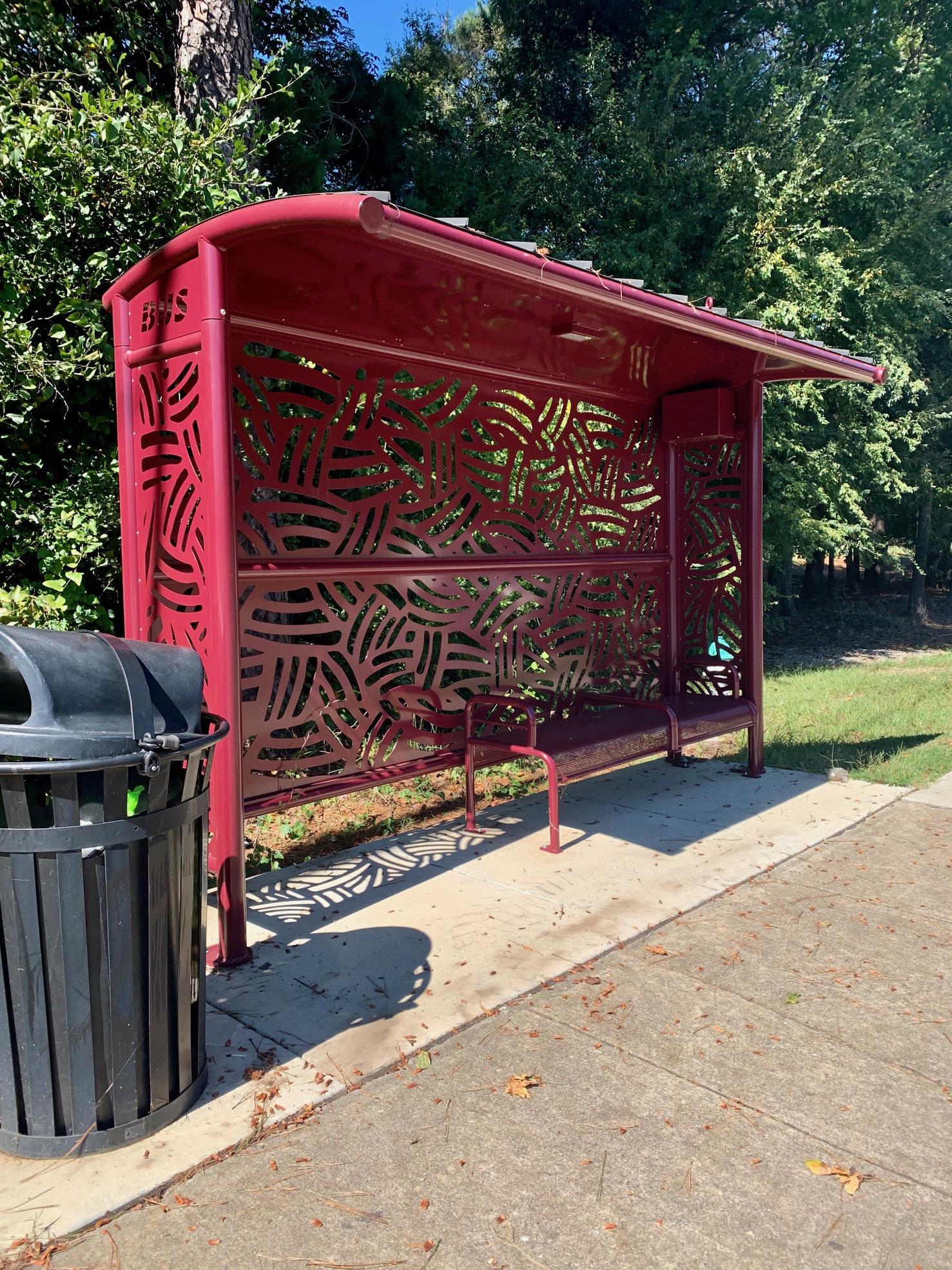 Bus Shelter Type II, Athens-Clarke , Georgia