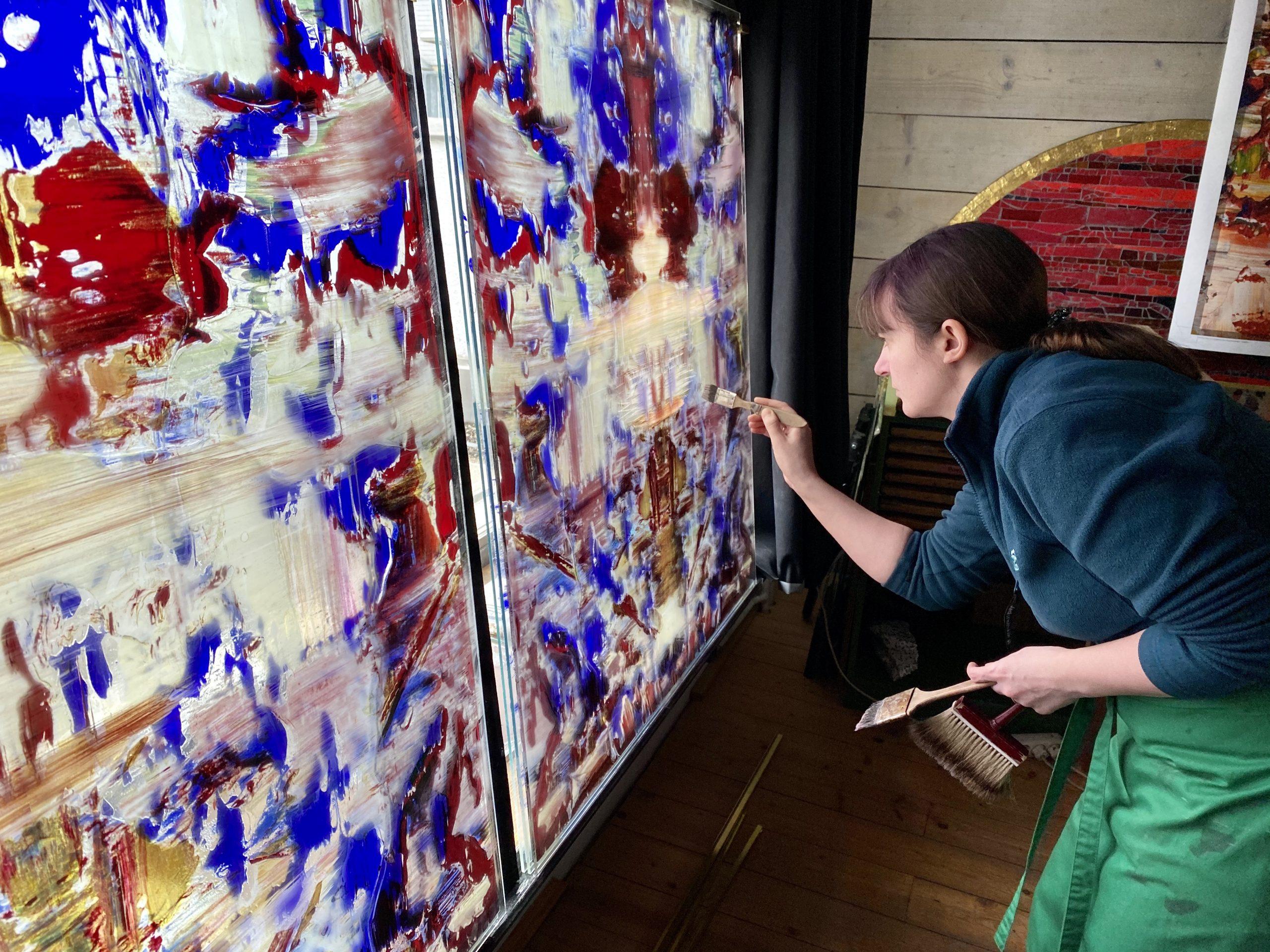 Gerhard Richter – Choir Windows for German Abbey Tholey