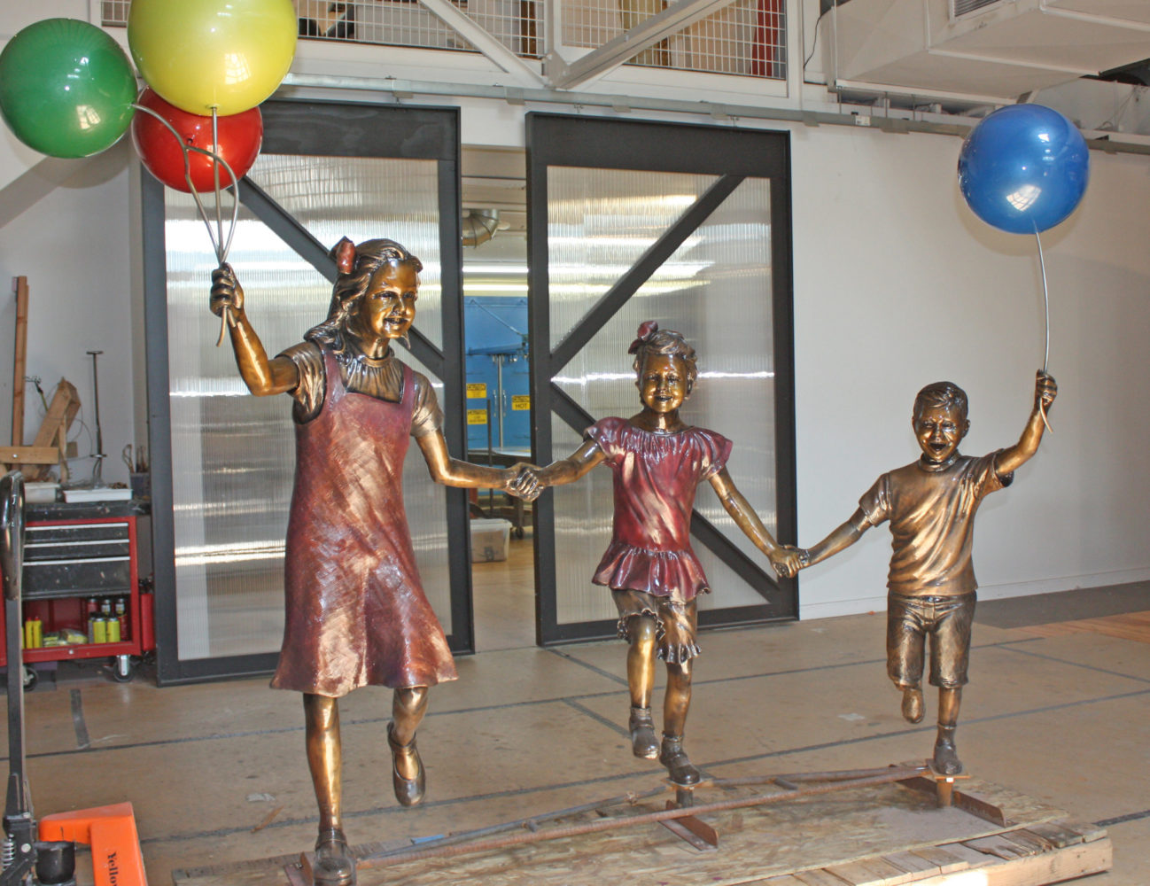 Driscoll Children's Hospital Sculptures