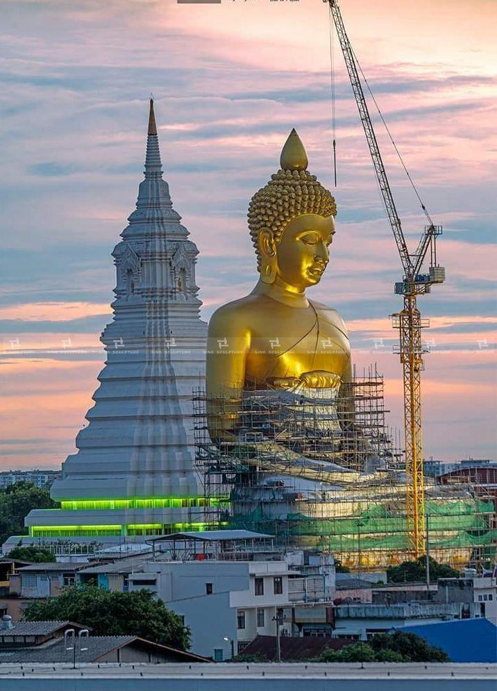 bronze buddha sculpture, bronze Shakyamuni Buddha Royal Temple in Bangkok, Thailand - CODAworx