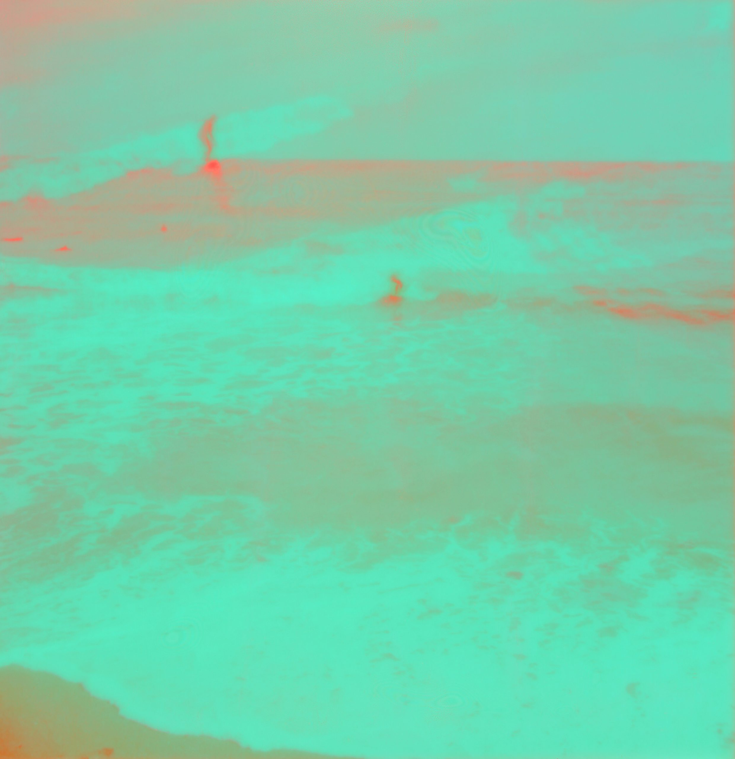 Colorful Surfer Grid