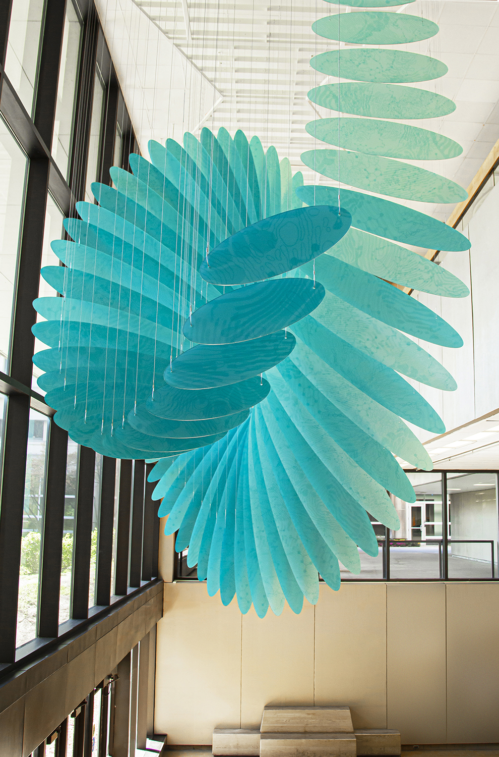 Cleveland State University Science Building – Commissioned Sculpture