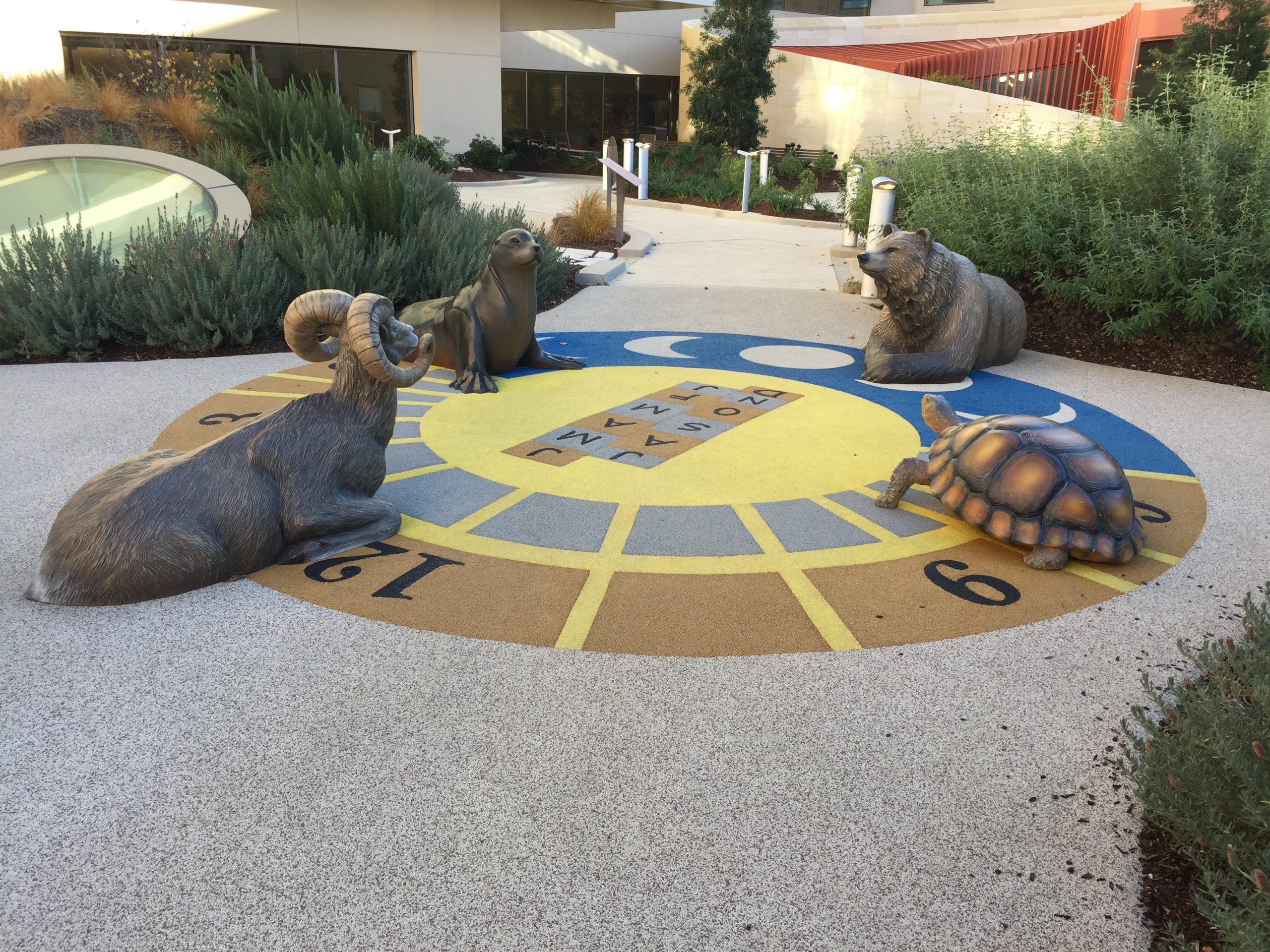 Lucile Packard Children's Hospital, Dunlevie Discovery Garden