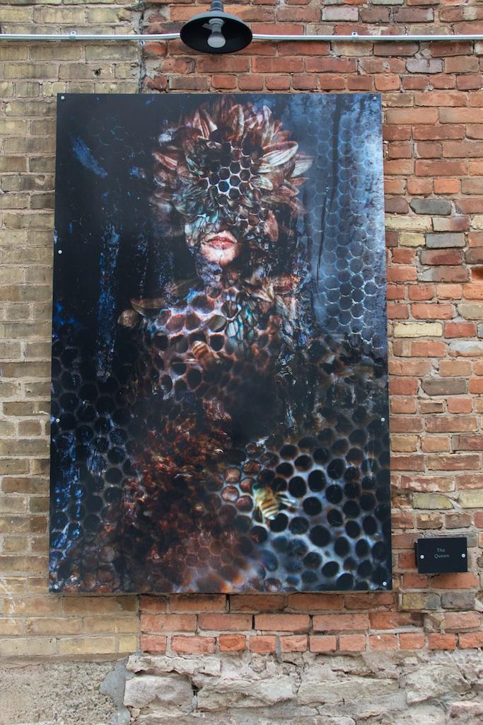 Art Alley in De Pere, WI.