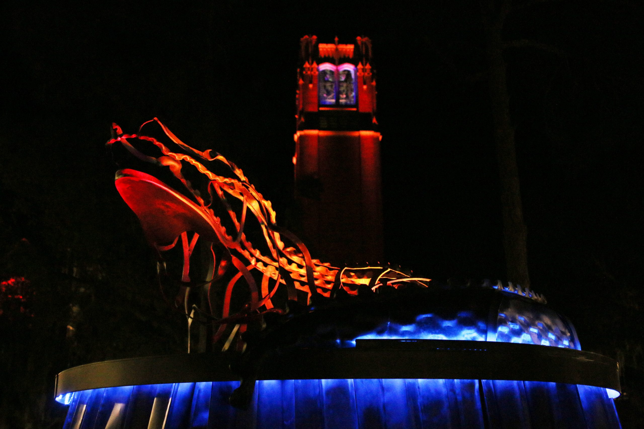 University of Florida Lighted Gator