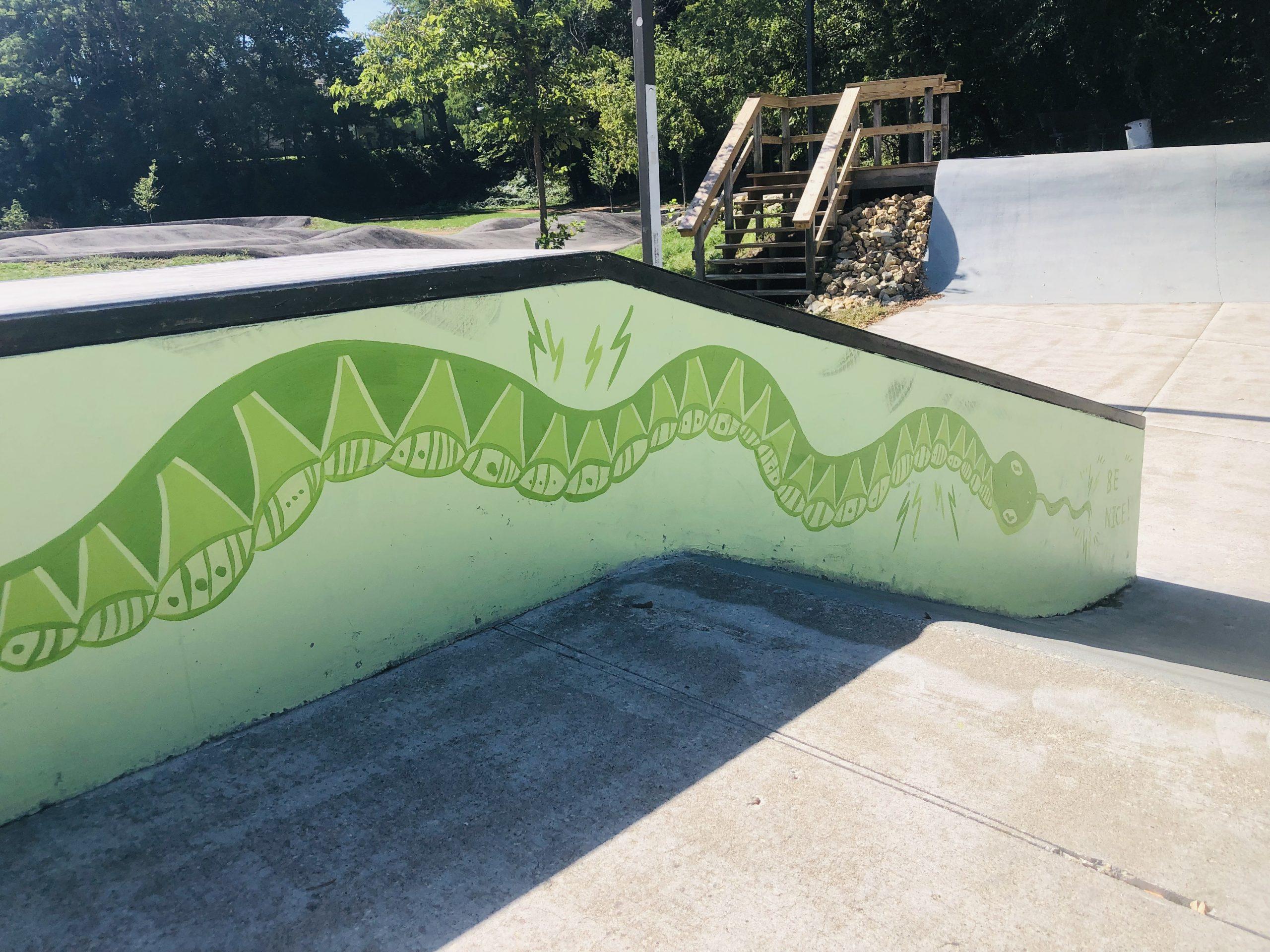 Leuth Skatepark Mural