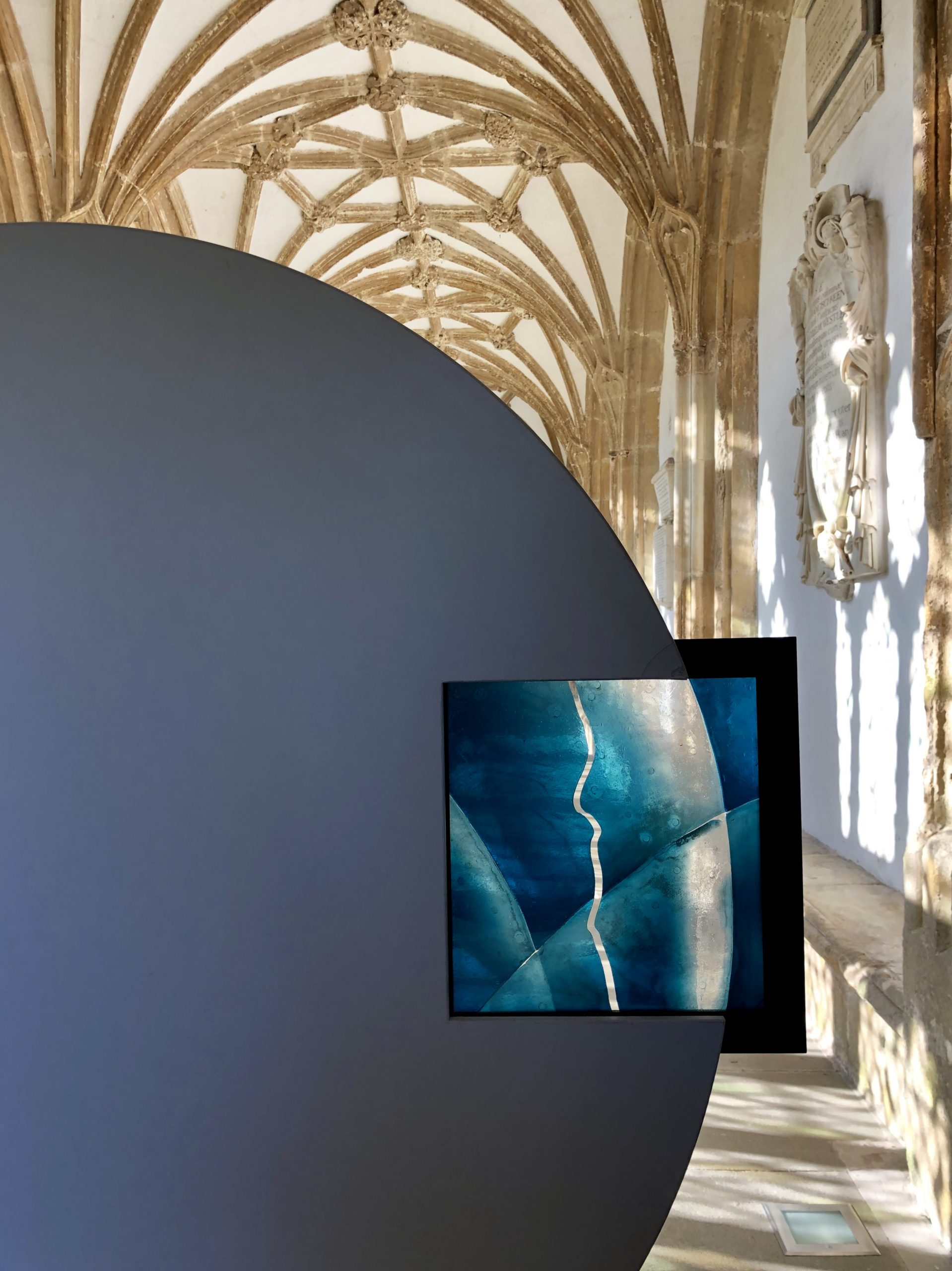 Order vs Disorder. Wells Cathedral. UK