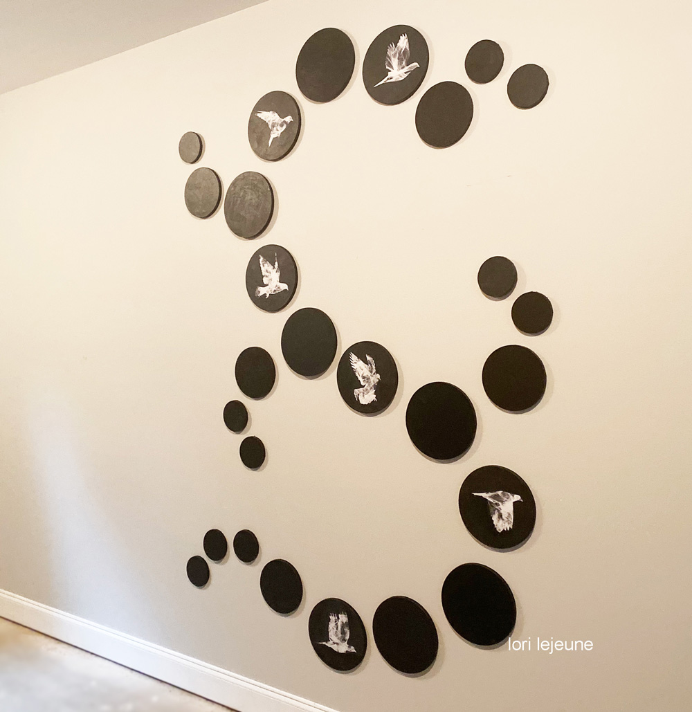Installations and wall art by Lori Lejeune