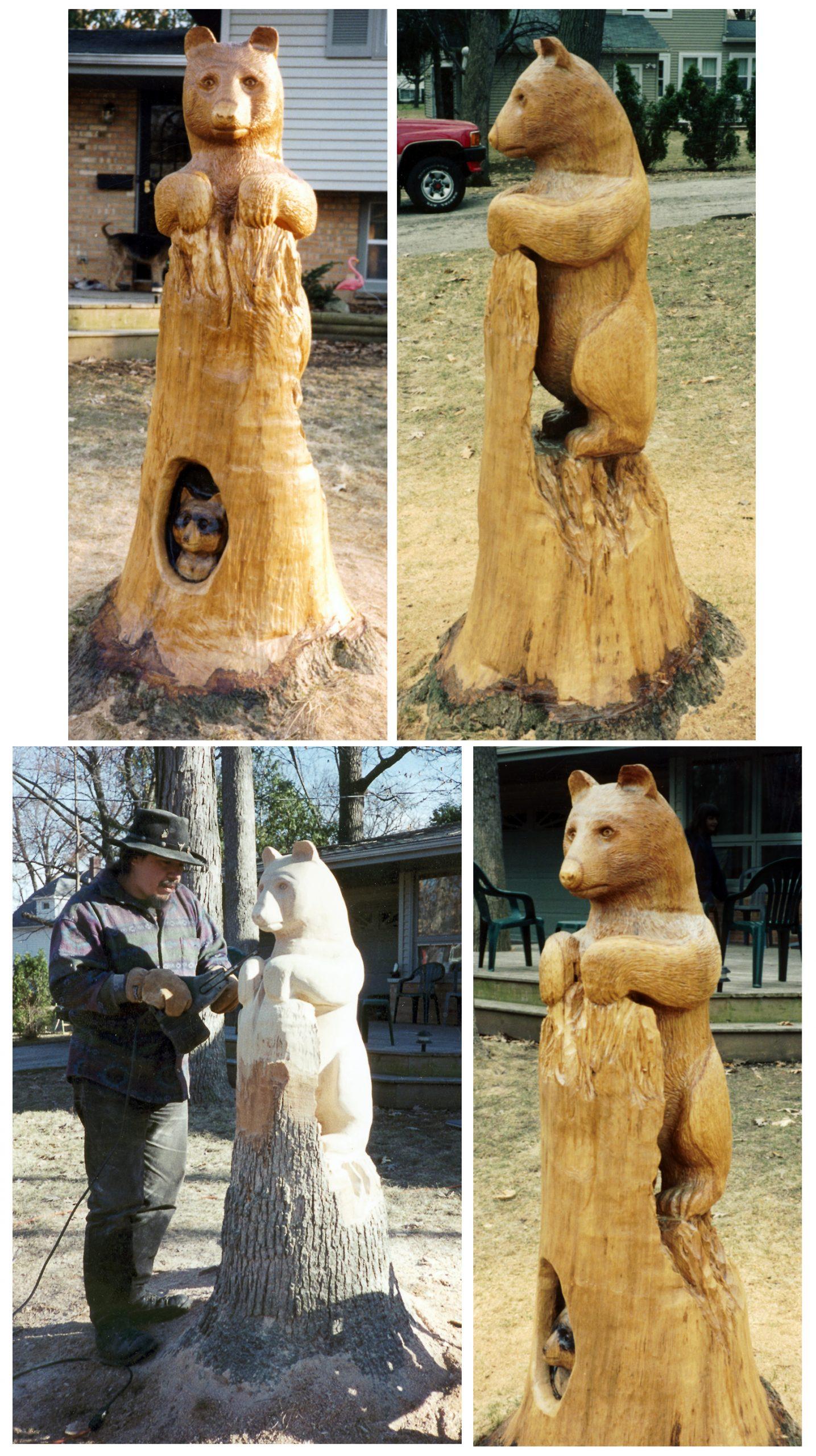 Wood Sculpture Ensemble