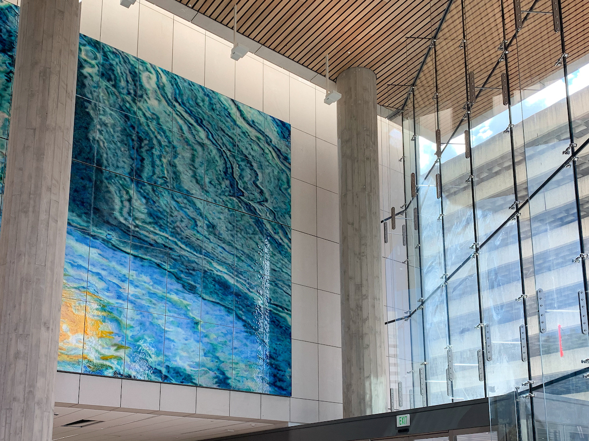 Multnomah County Central Courthouse Lobby Artwork