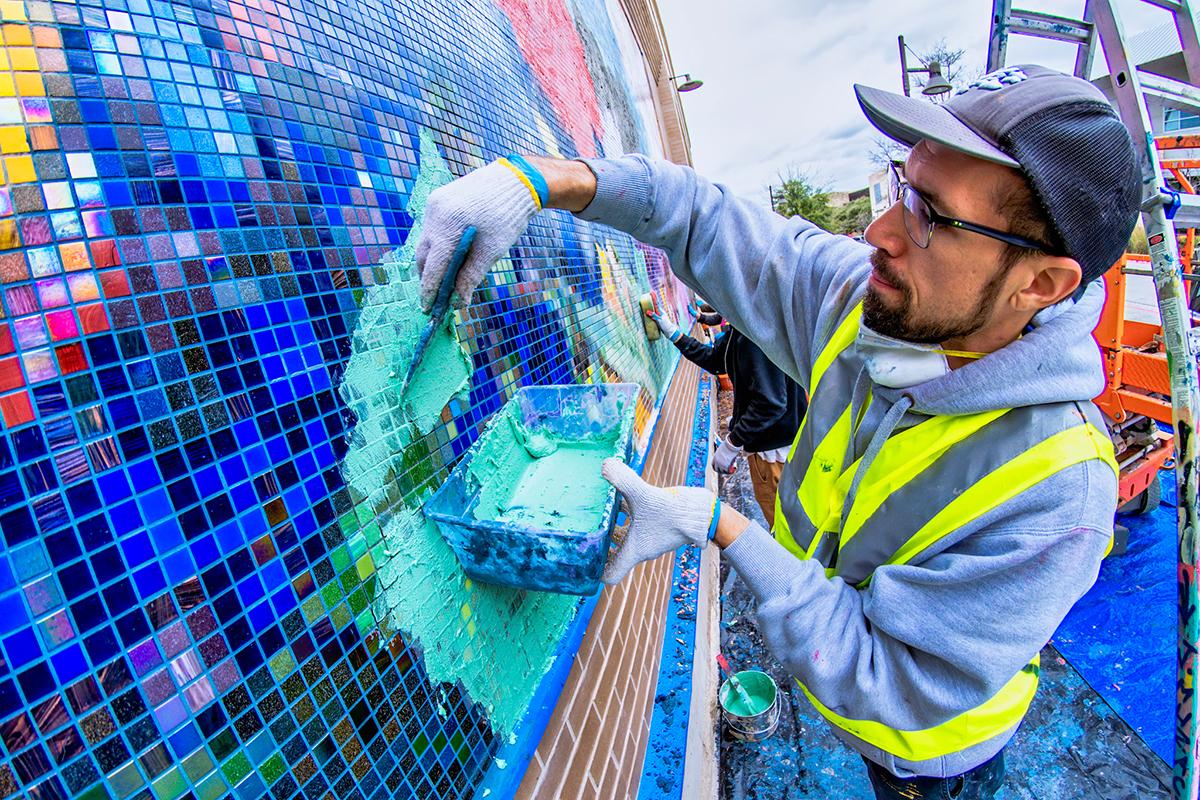 Materials of Hope: The Mosaic Art of J Muzacz - CODAworx