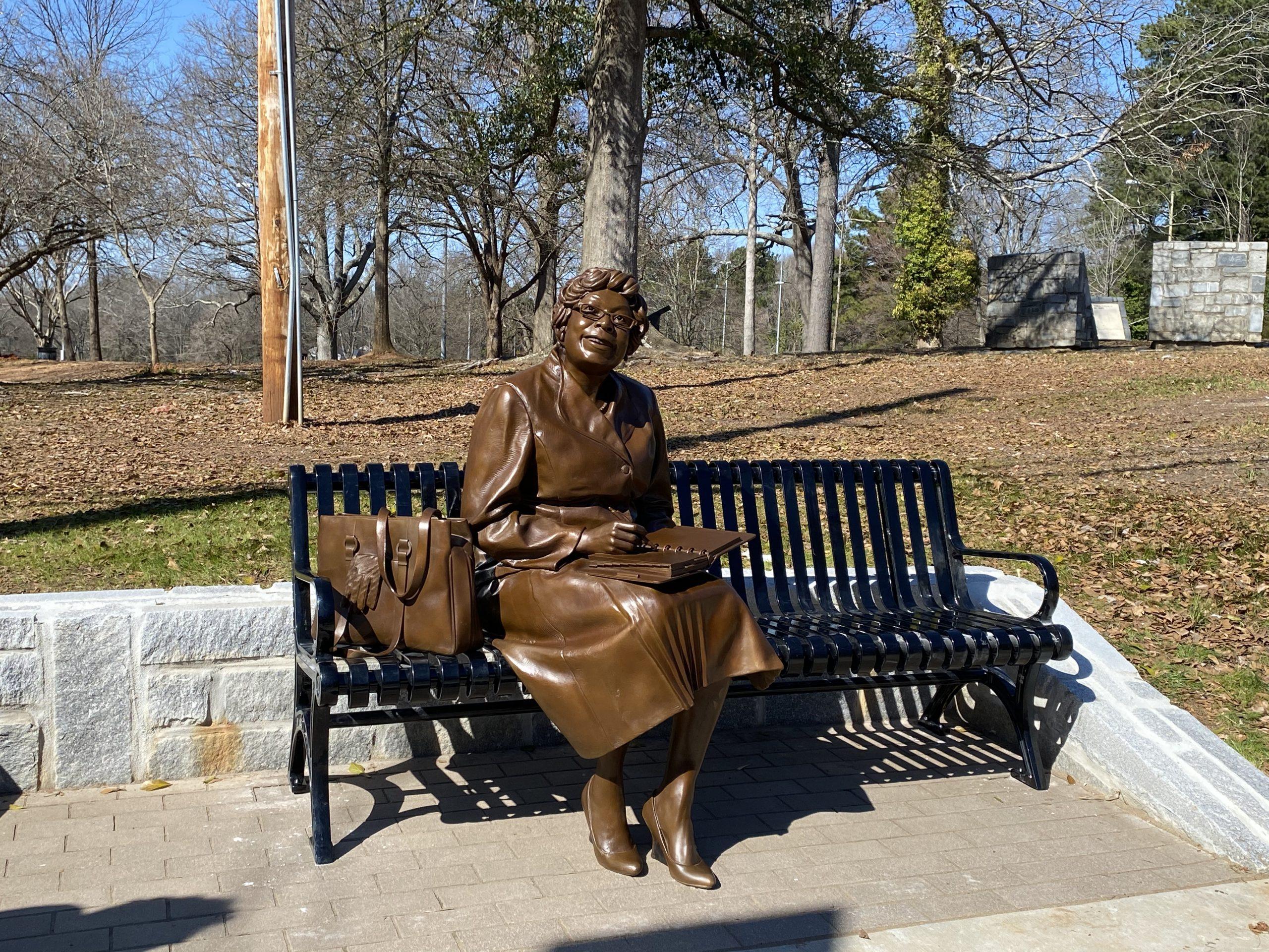 Civil Rights Heroes in Mozley Park, Atlanta