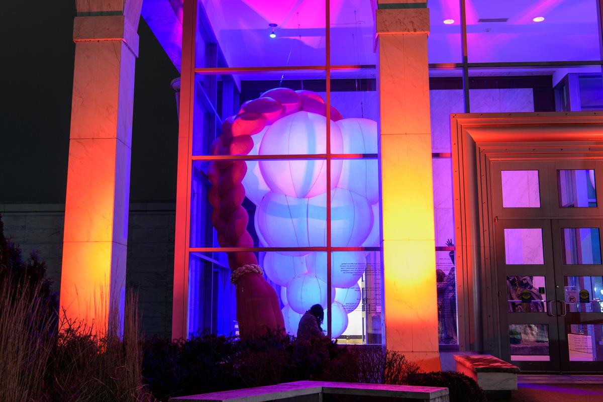 HIVE, Kinkade Pavillion at the Krannert Museum, Champaign, IL