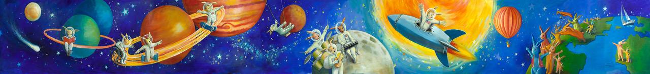 """Space Bunnies"""