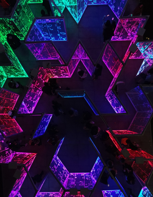 Light Maze by Ben Busche / Brut Deluxe