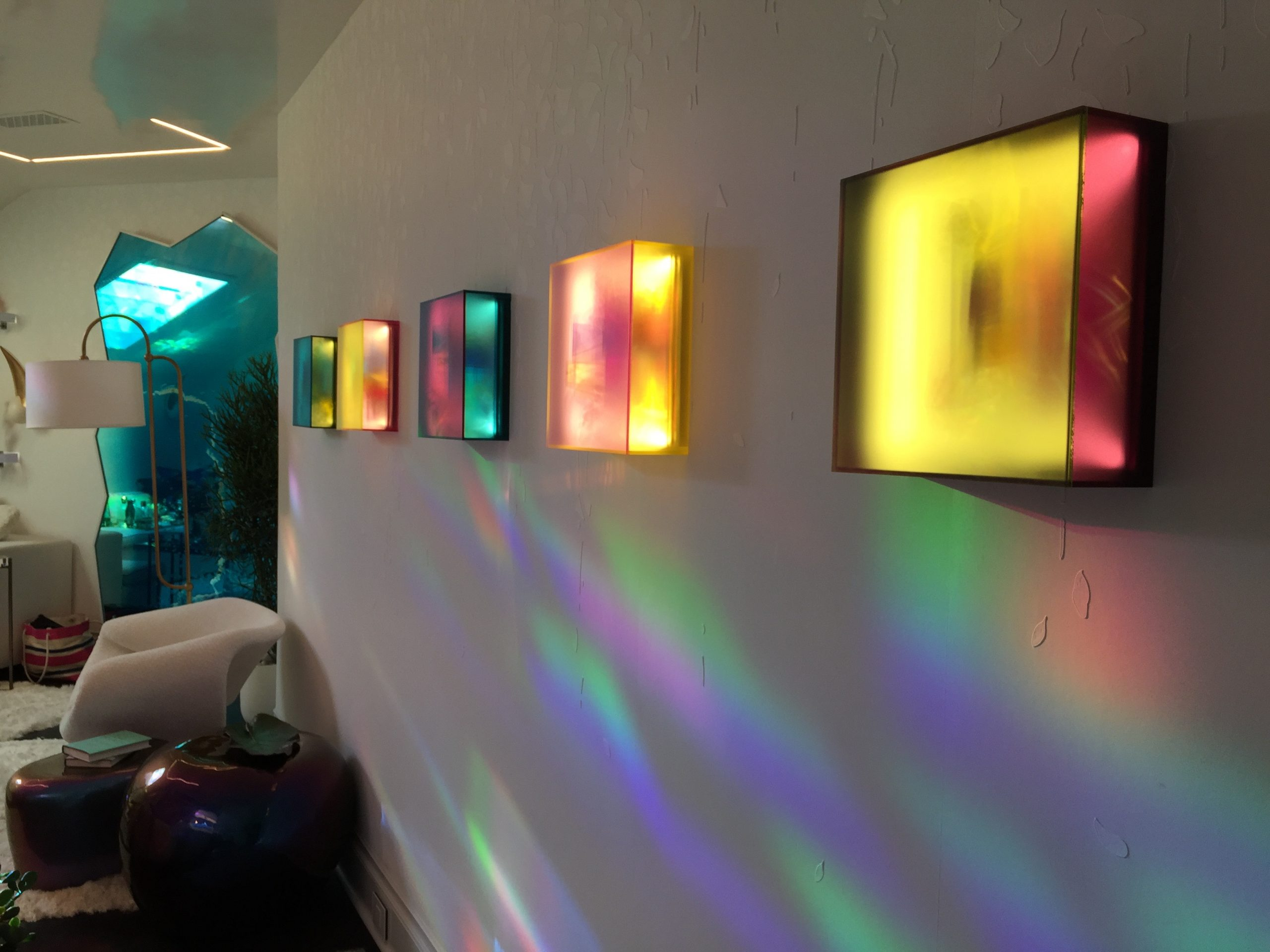 Opaline Skies and Submerged light works