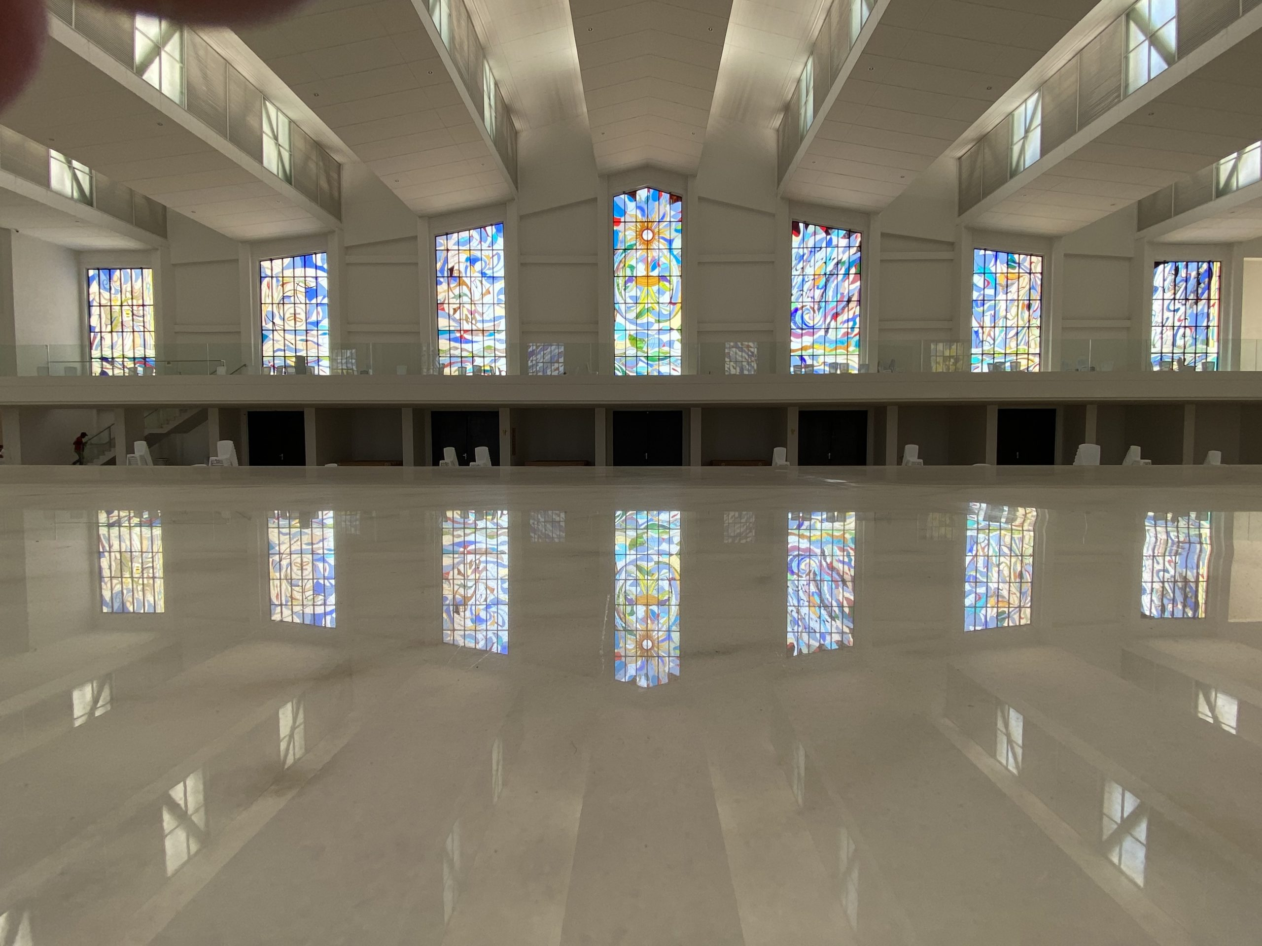 Stained glass Windows for the Cathedral SAINT ECCEHOMO of Valledupar, Cesar, Colombia, South America