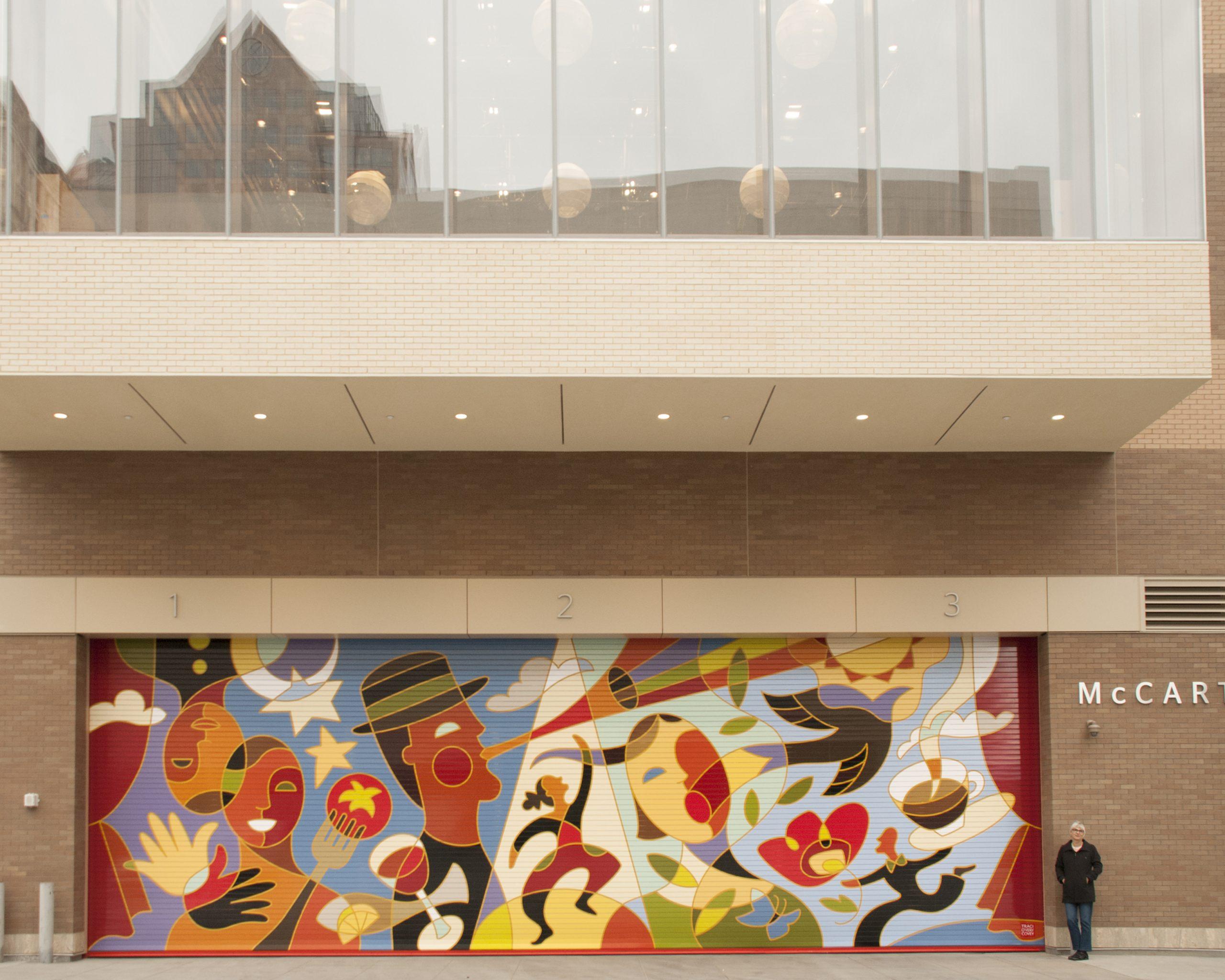 Imagine – Eccles Theater Mural