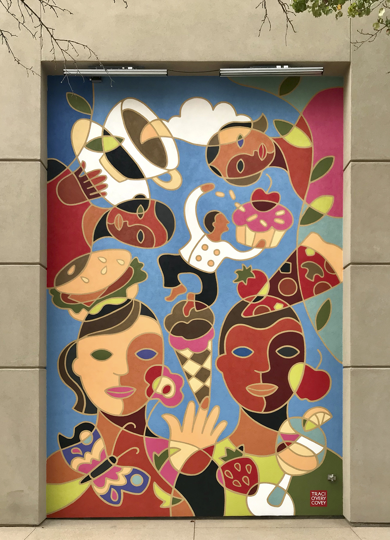 Jordan Landing Shopping Center Murals