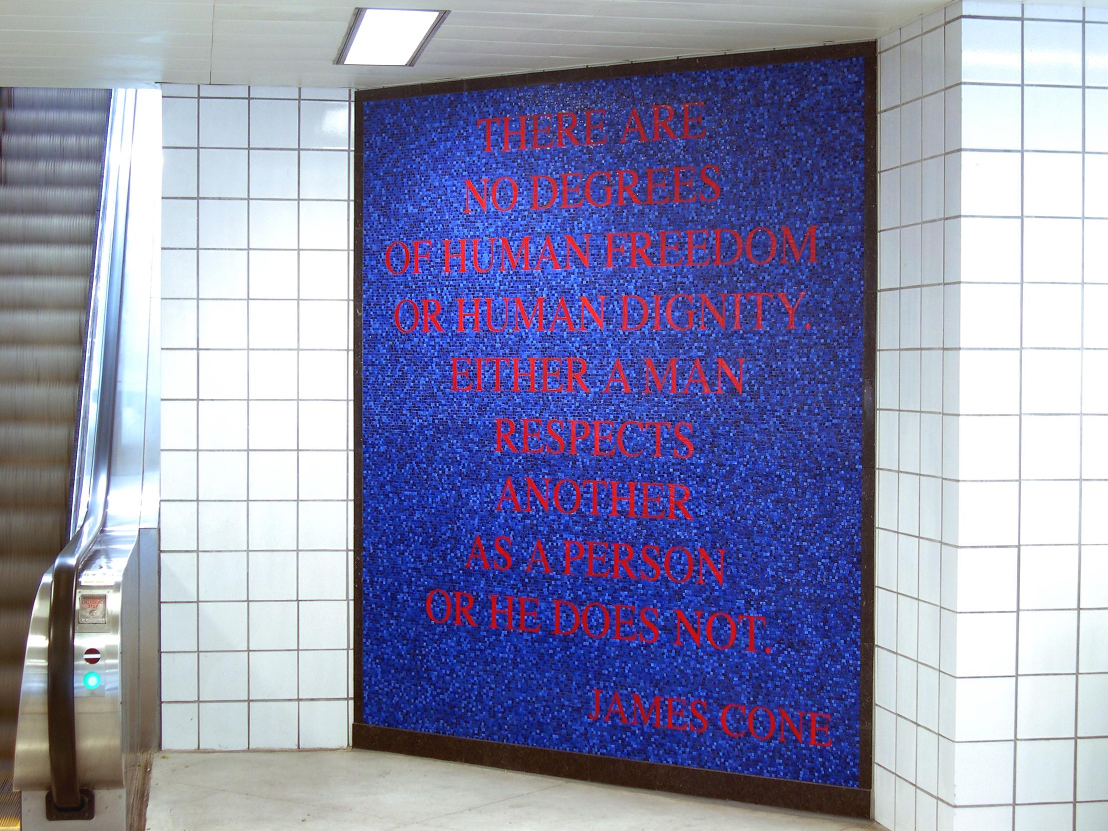 Pulaski Station Mosaics