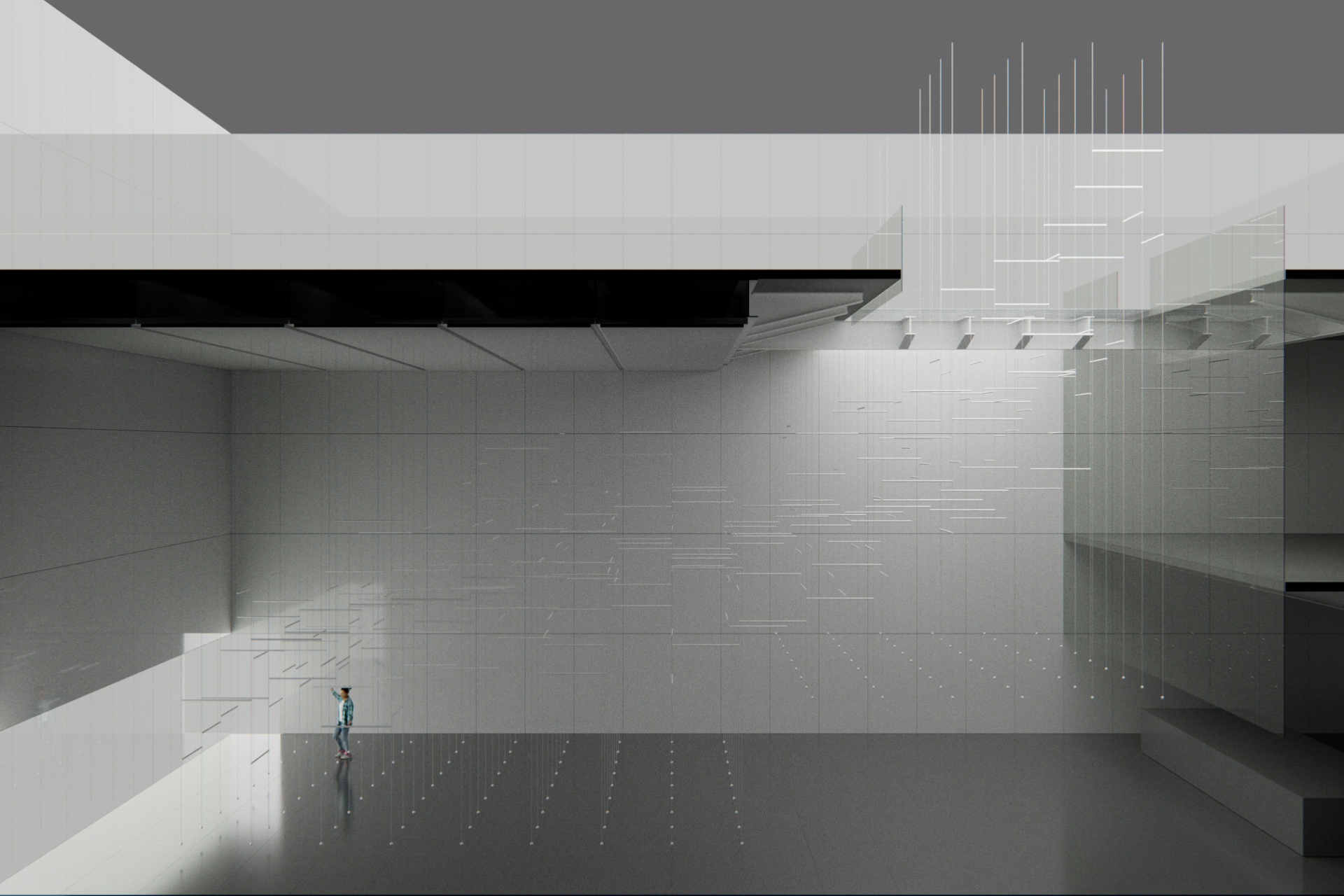 3i019 Site-specific installation at Museo Amparo