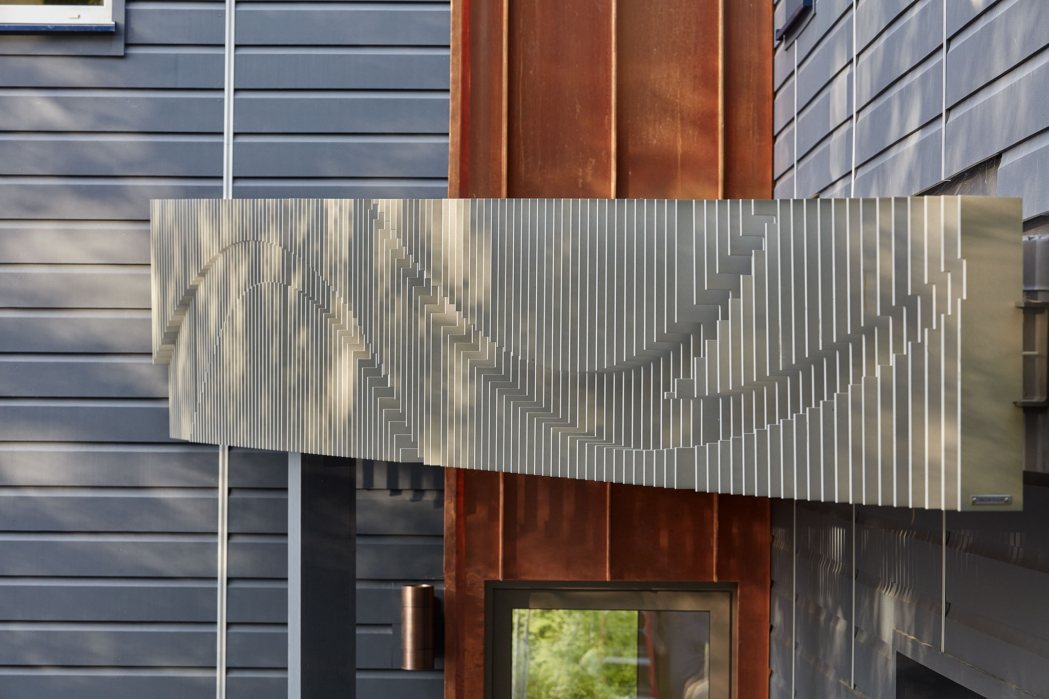 Sculptural Entryway