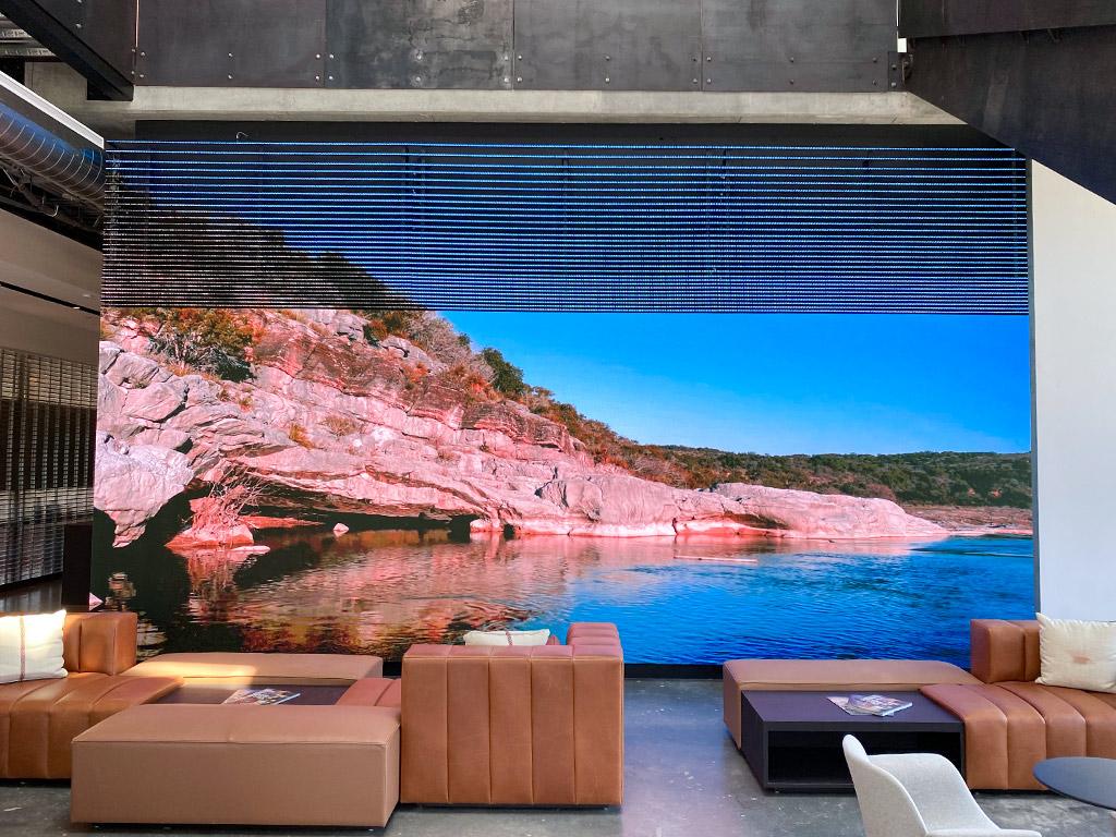 Gensler Austin Lobby Wall