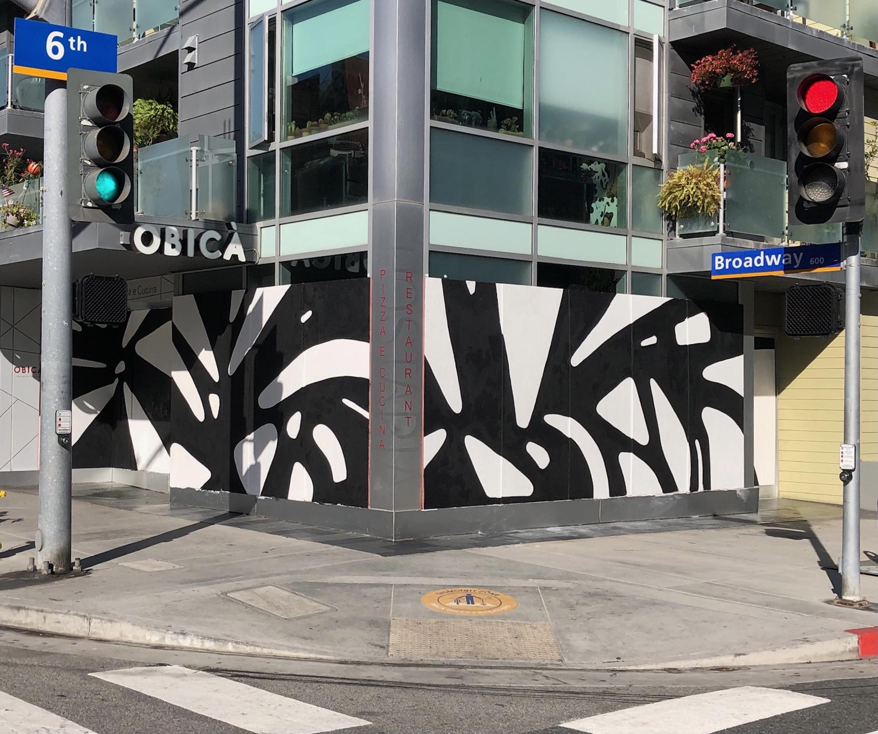 Panoramic Shadow Mural