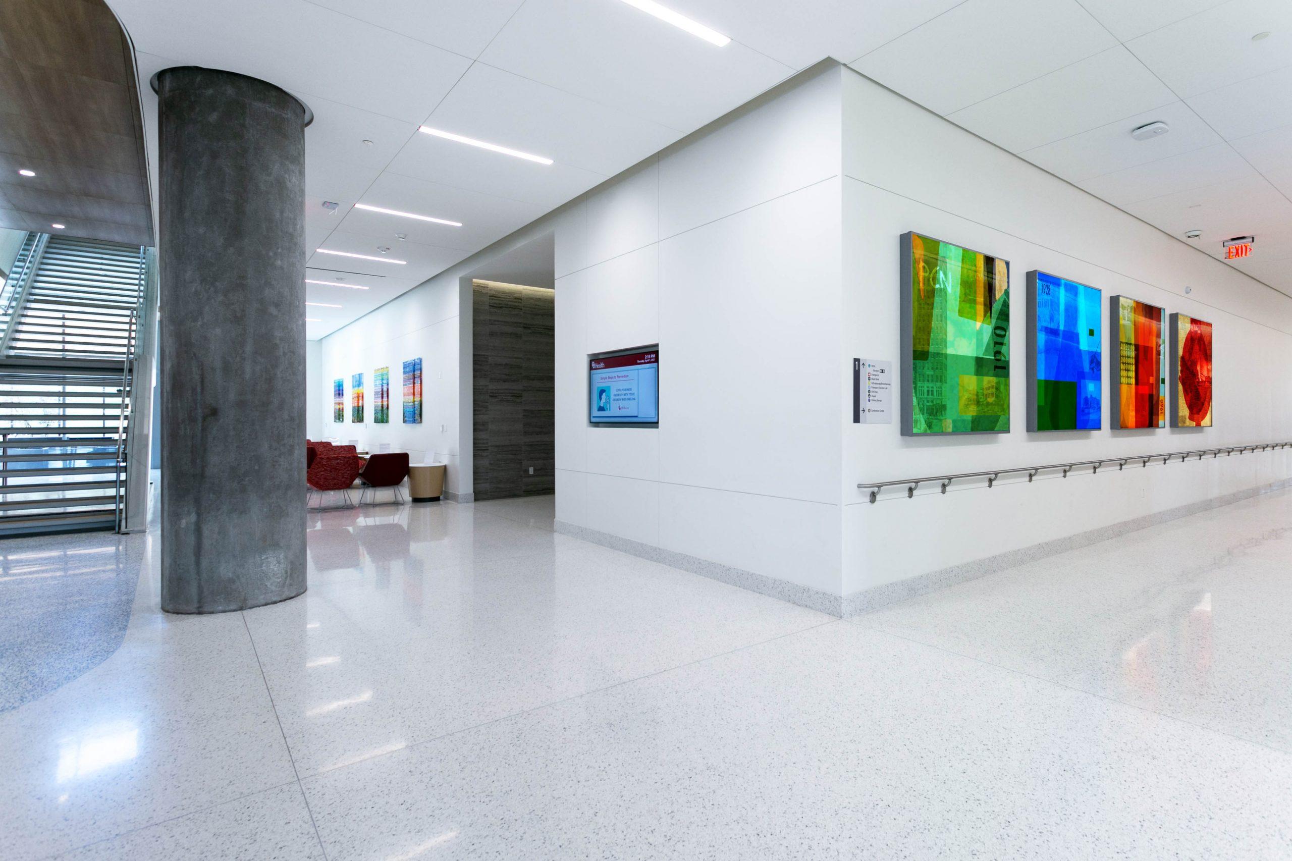 Oklahoma University Hospital. OU Medical Centre, Oklahoma, USA