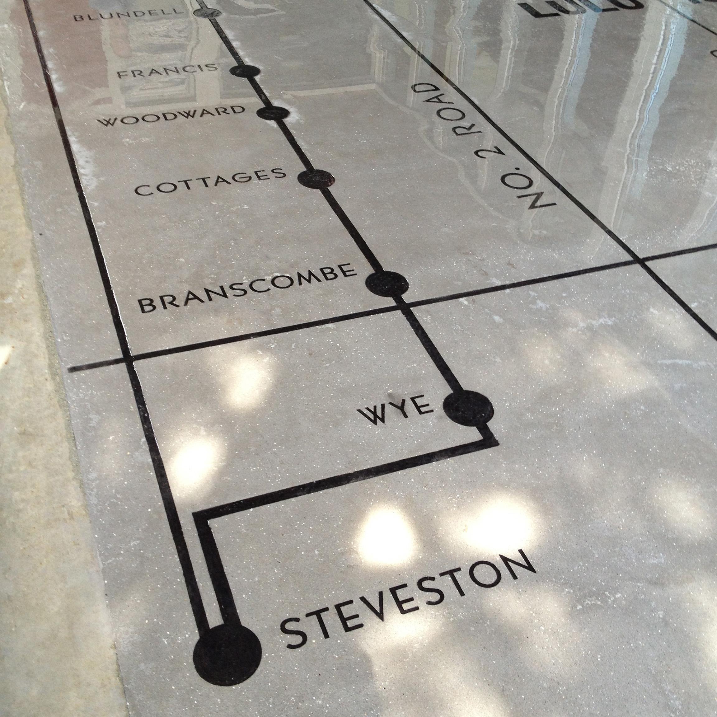 Steveston Interurban Tram Building Entryway
