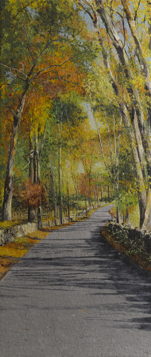 Collective Memory: Autumn, River Road