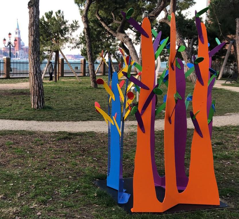 """""""Triffid V"""" Giardini Marinaressa, 2021 Venice Architecture Biennial"""