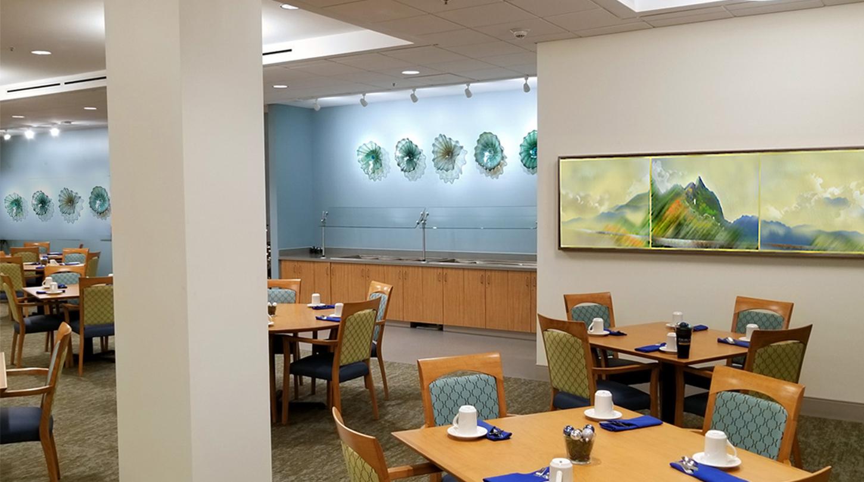 Colorful Artwork for New Senior Residence