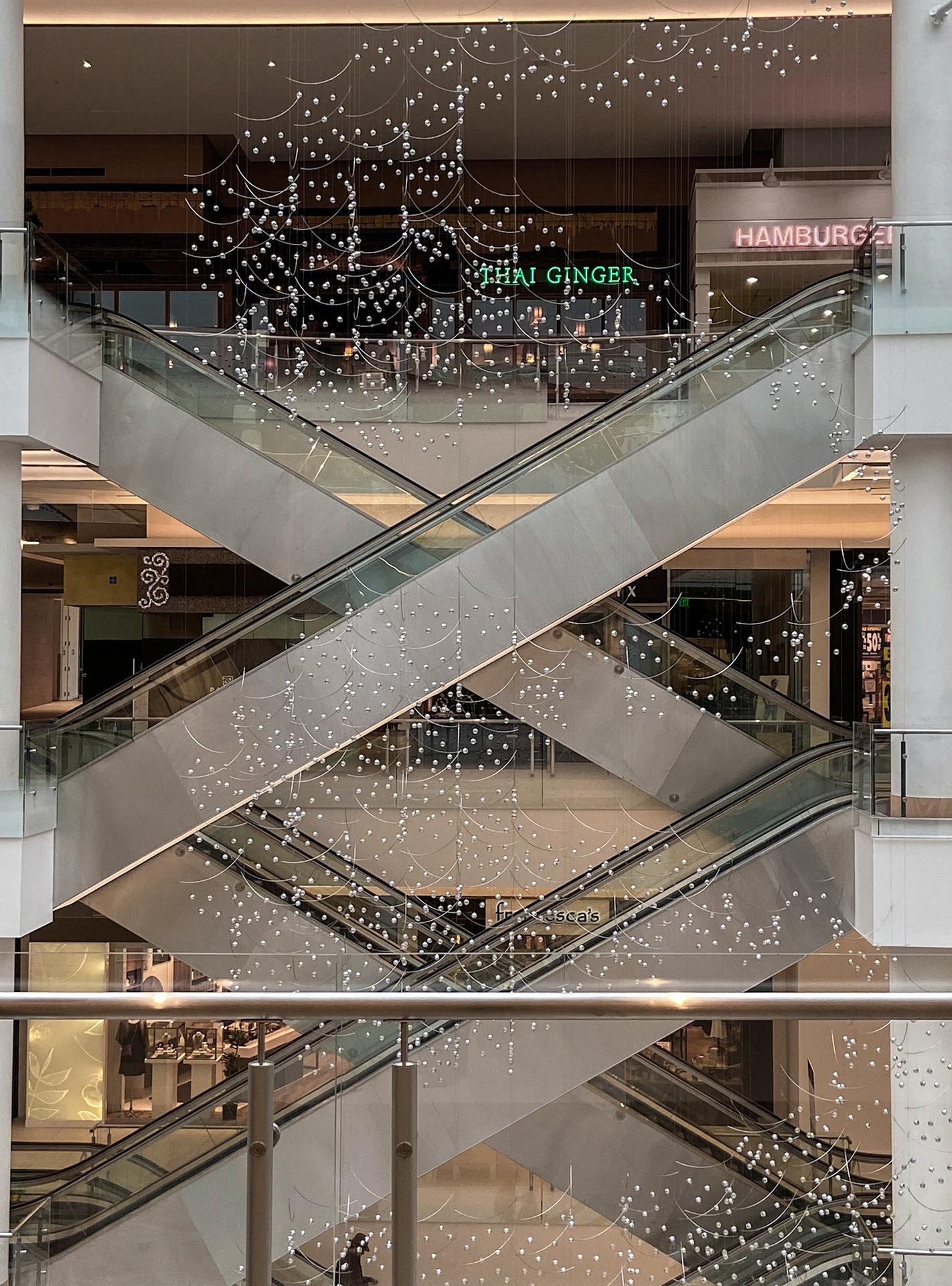 """""""Murmuration"""". Pacific Place Mall, Seattle, WA, 2020."""