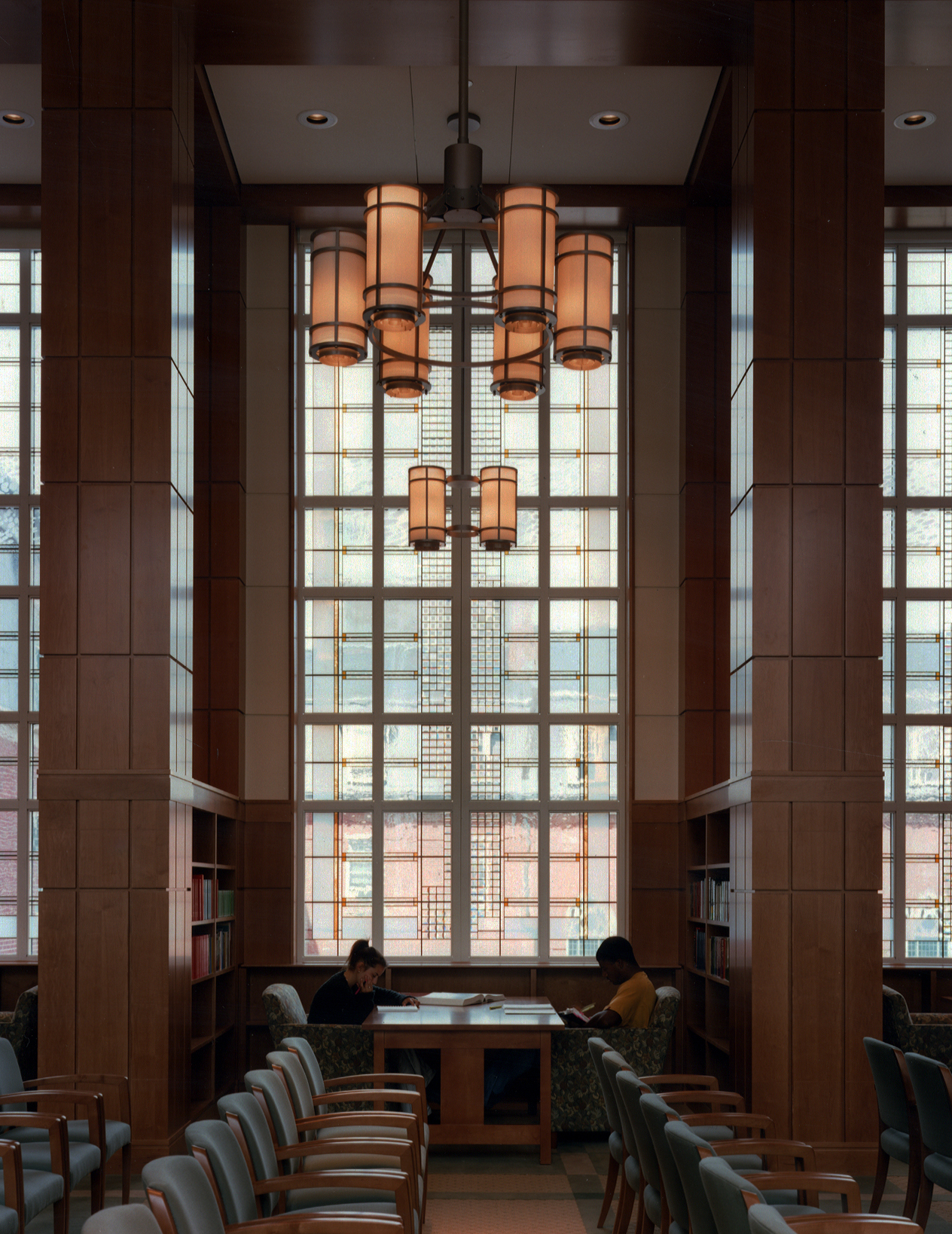 Rehm Library, Smith Hall, College of the Holy Cross, Worcester, MA.