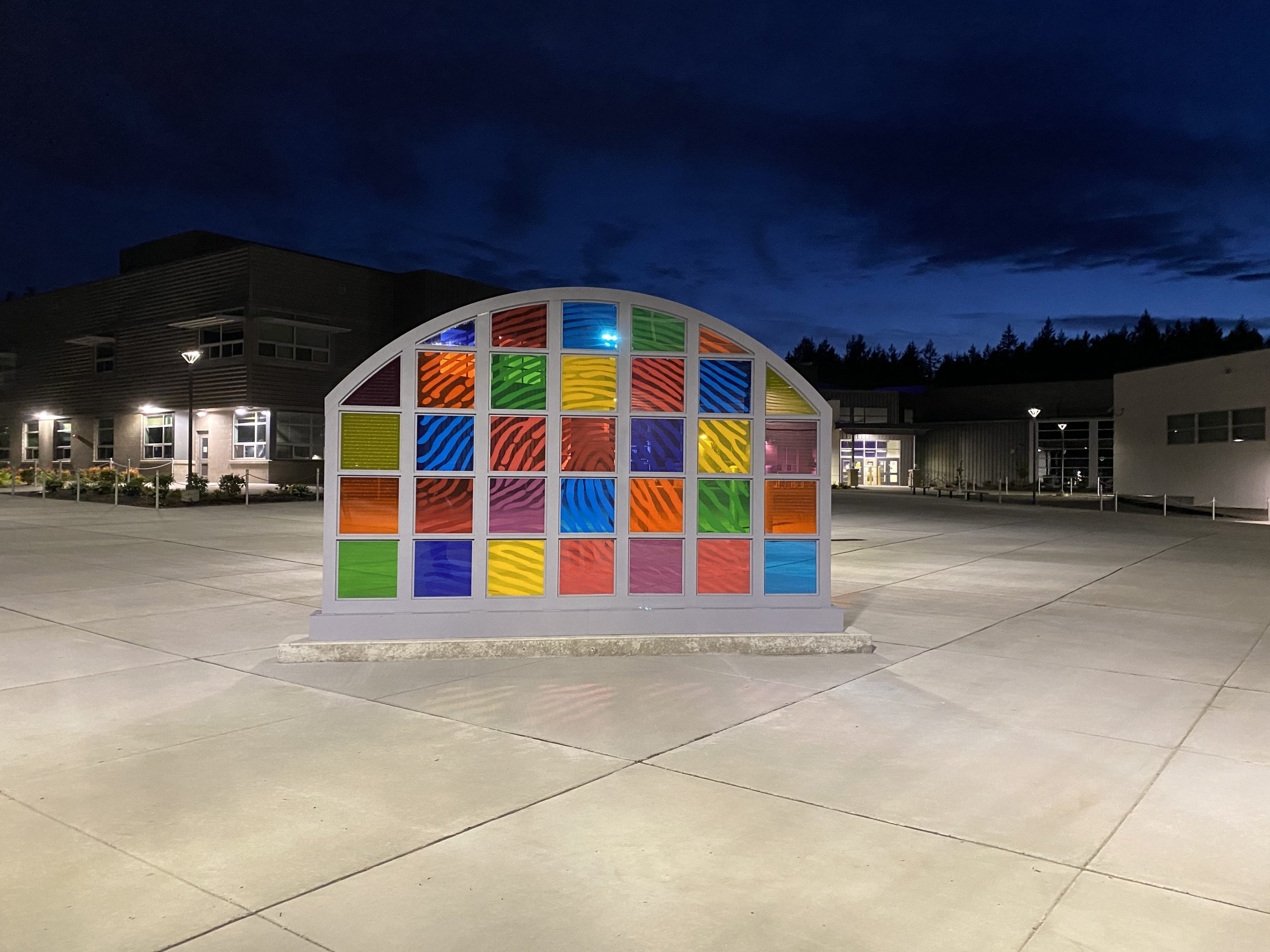 WE ARE…  Public Art project at North Thurston High School