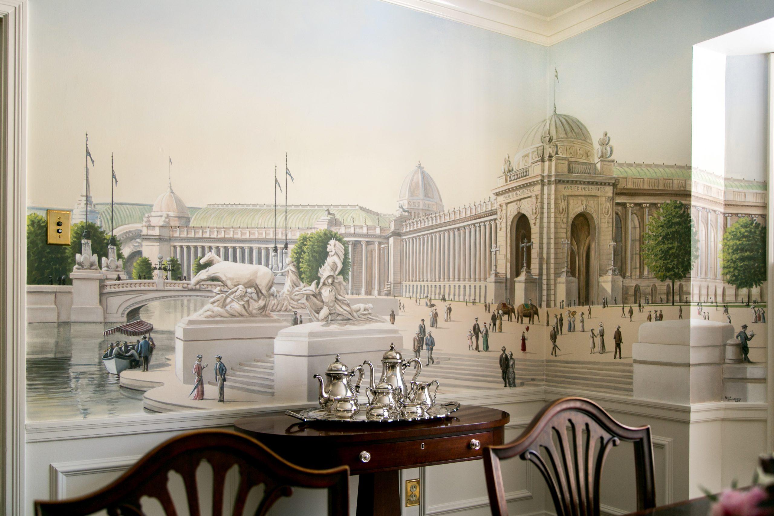 1904 World's Fair Dining Room