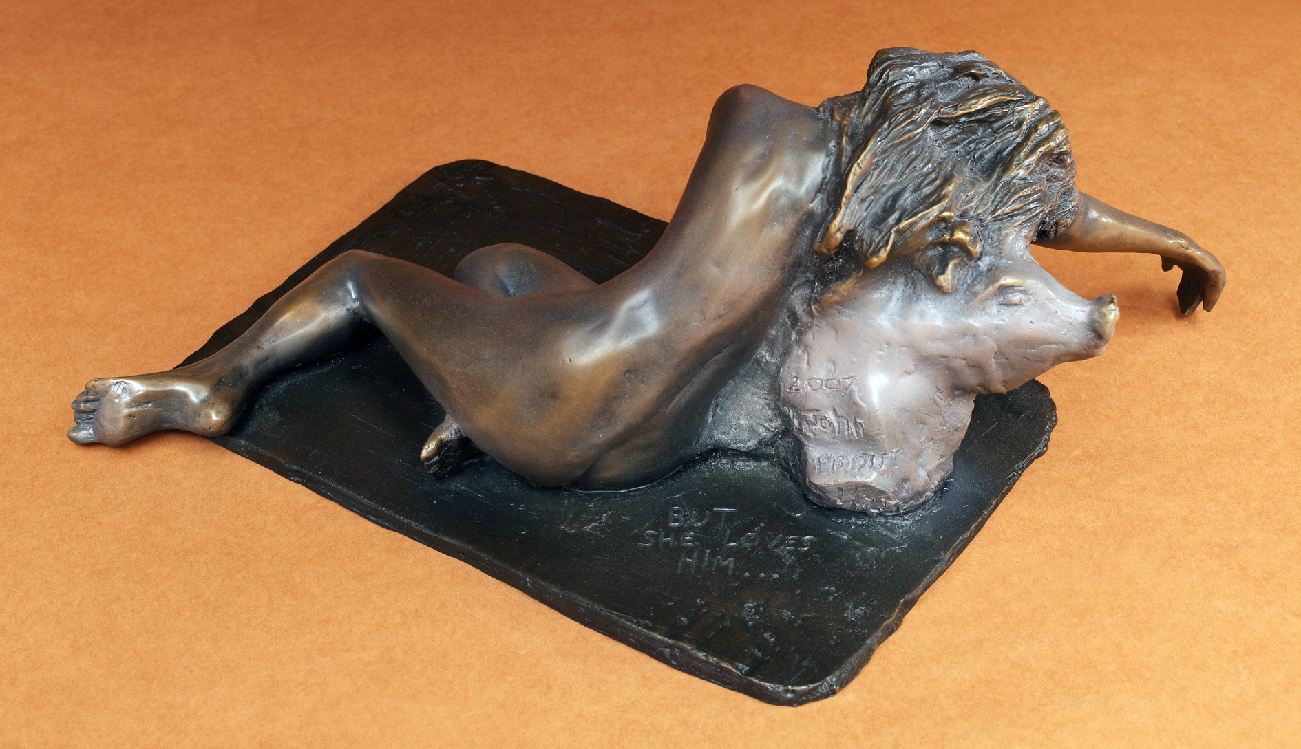 But She Loves Him_cropped_bronze_2005_view 5_8x10_CAFE