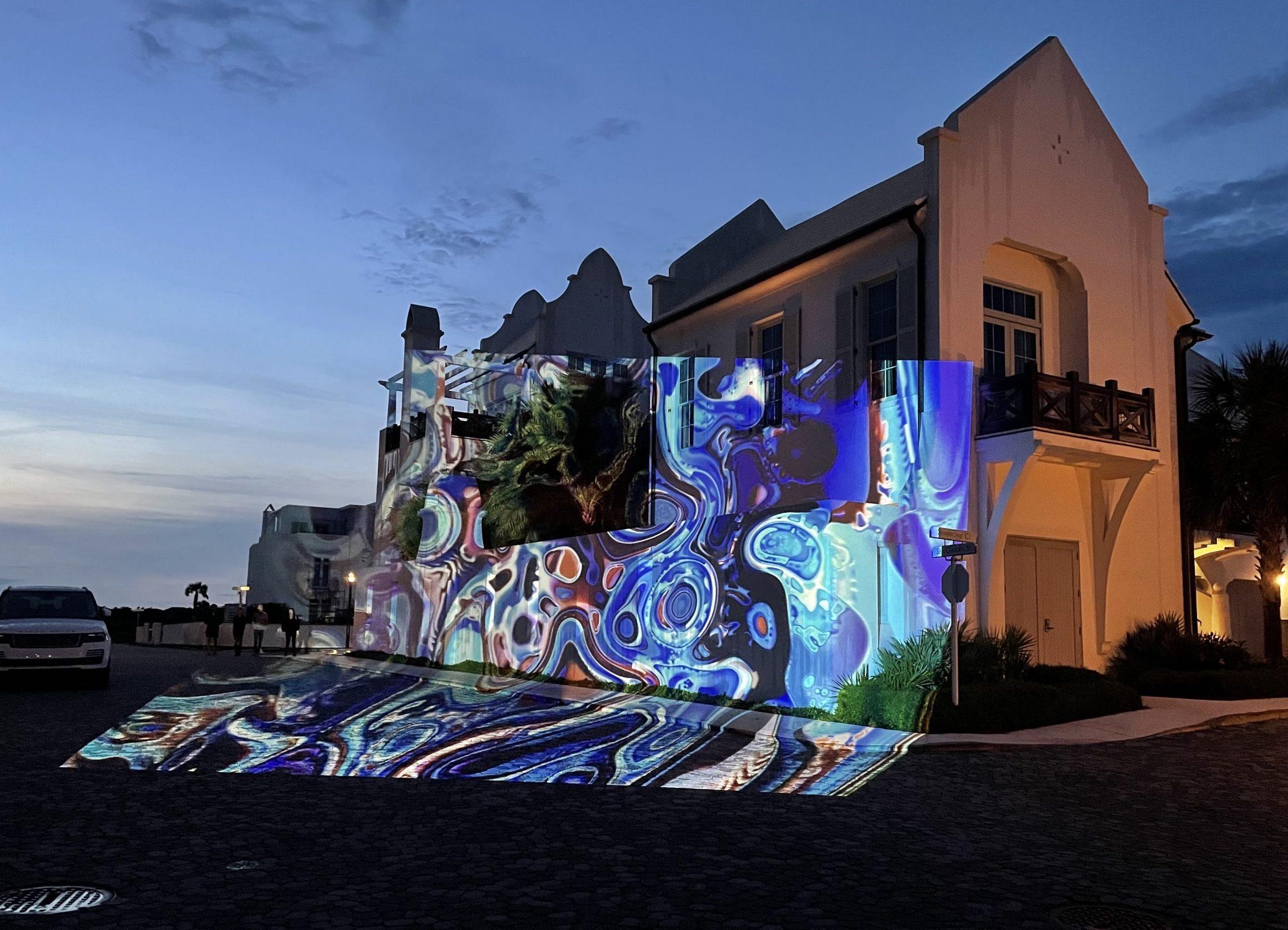 Digital Graffiti at Alys Beach