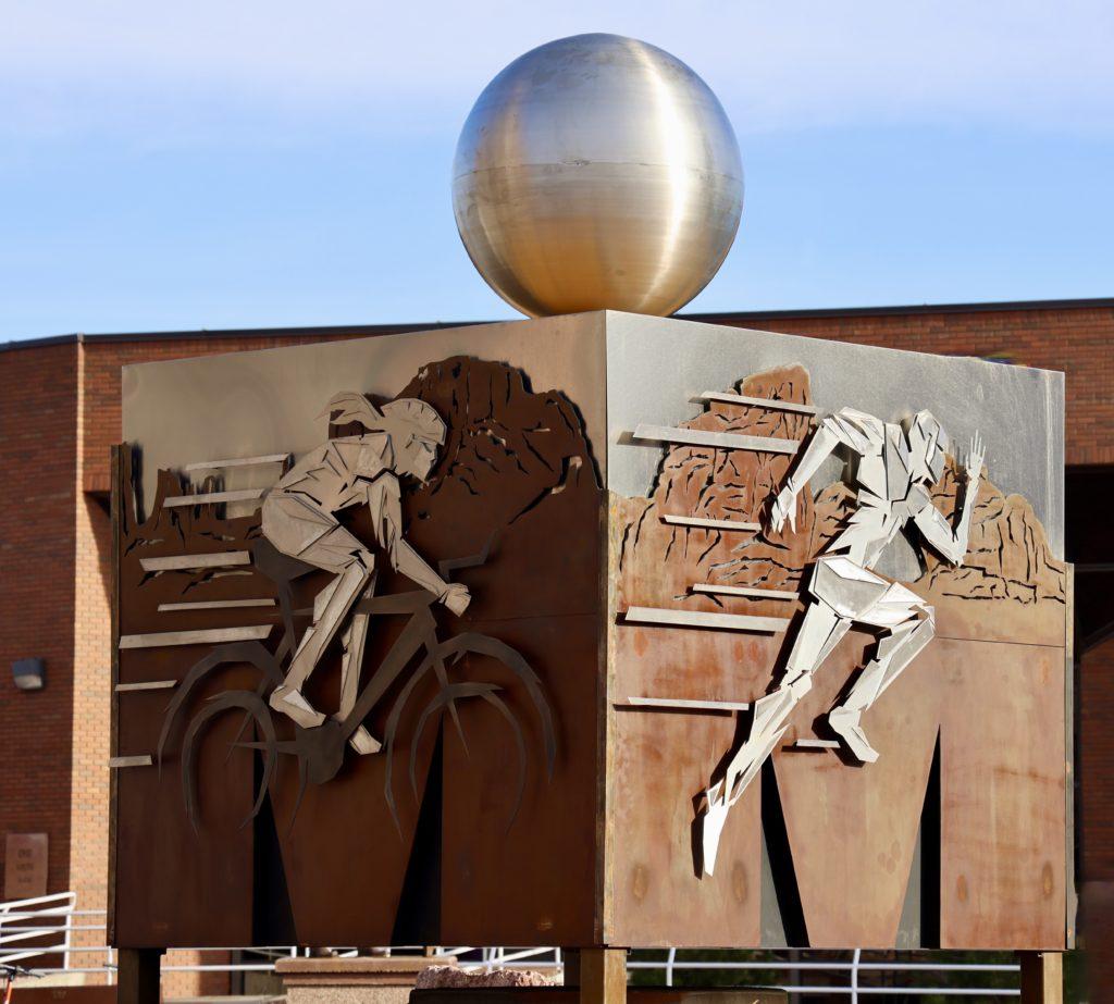"IRONMAN ""M-Dot"" Monument"