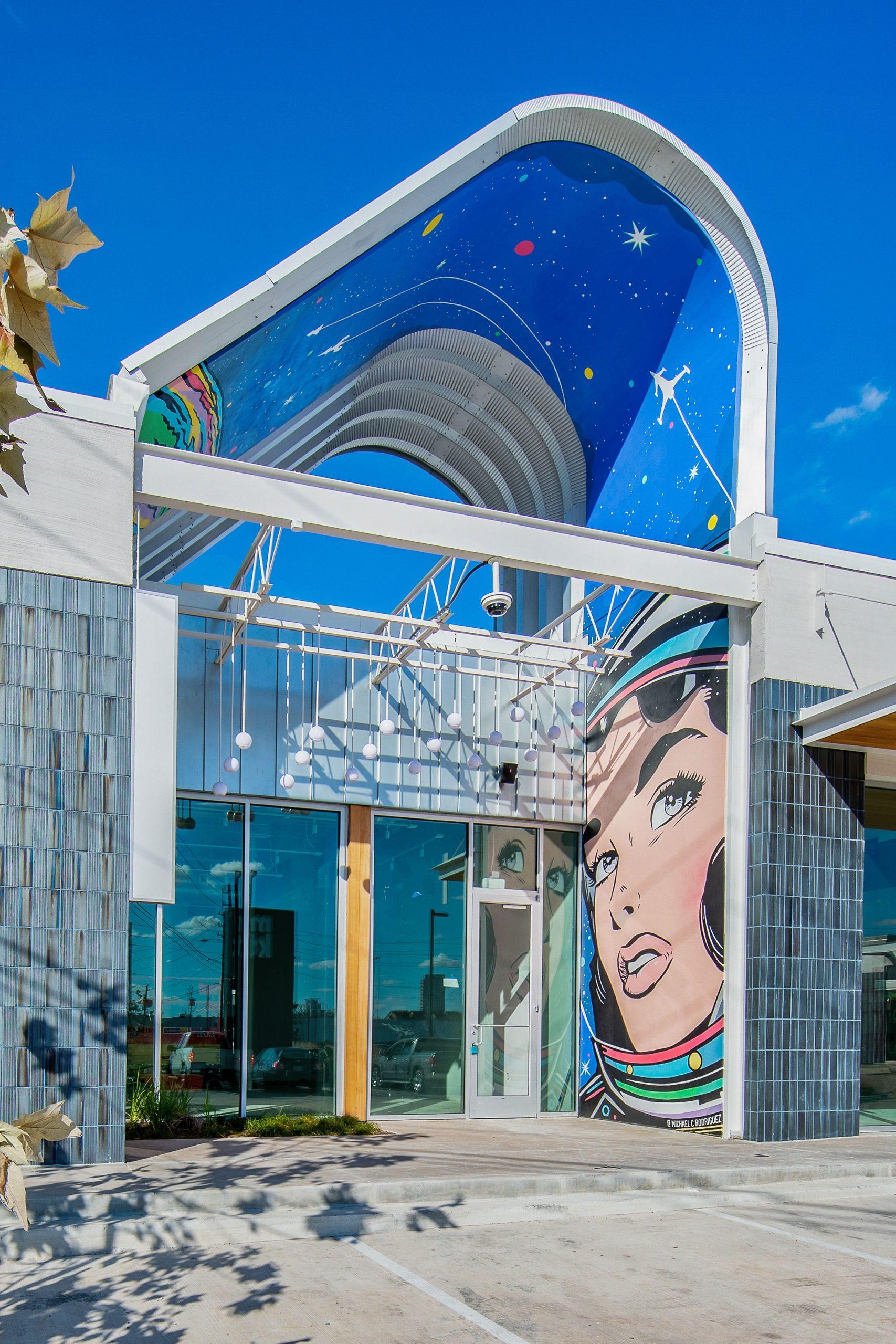 Public Art at M-K-T in Houston