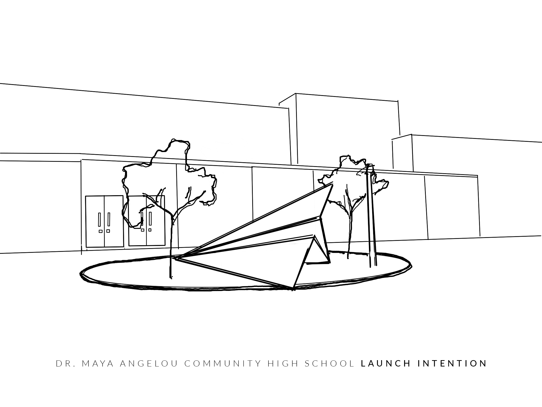 Launch Intention @ Dr Maya Angelou Community High School