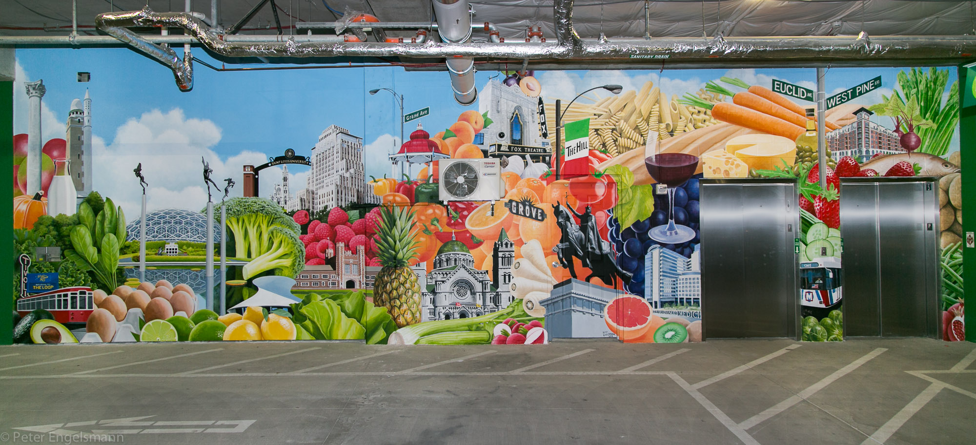 Whole Foods Mural
