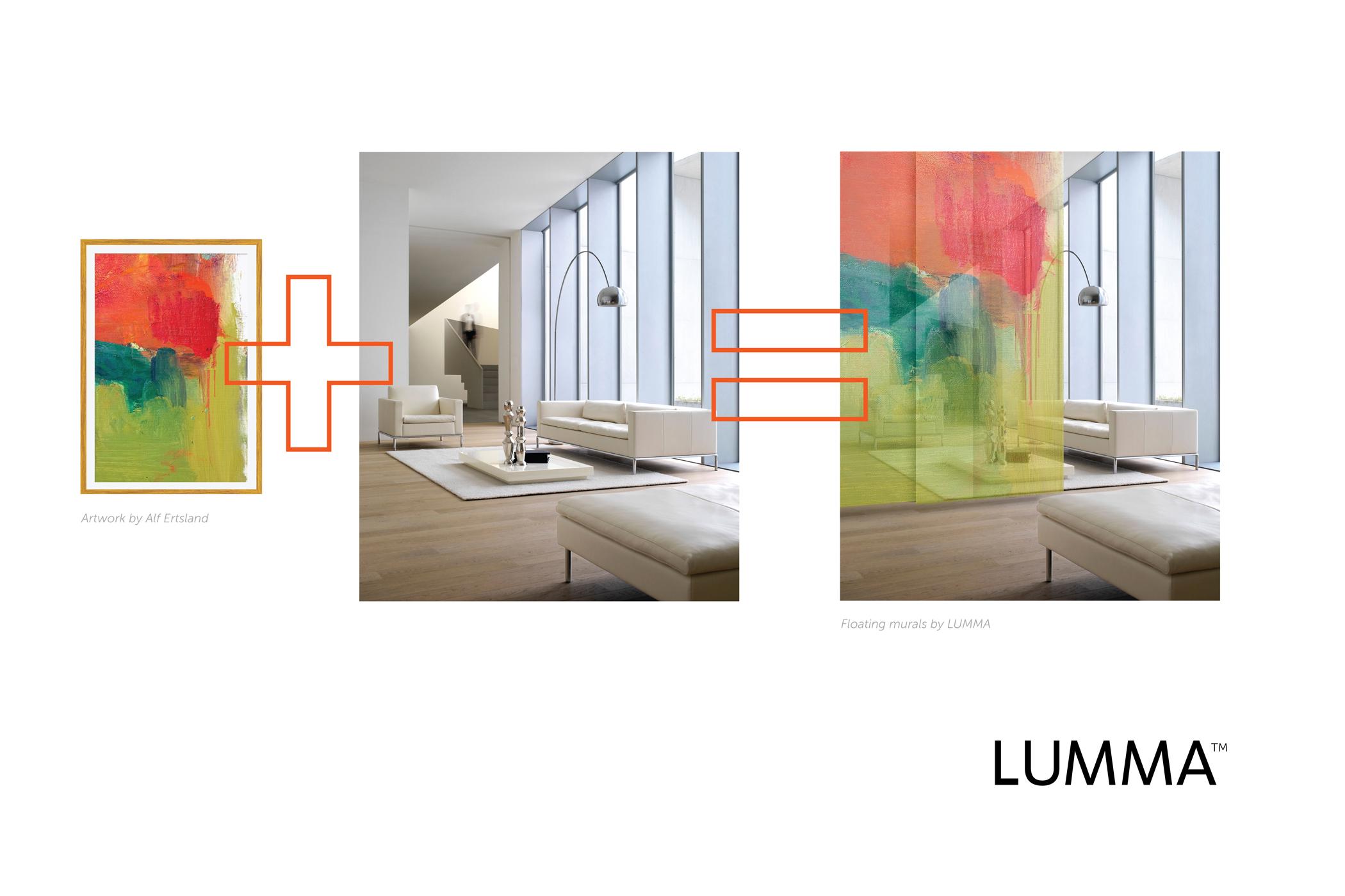 LUMMA Floating Murals: Living