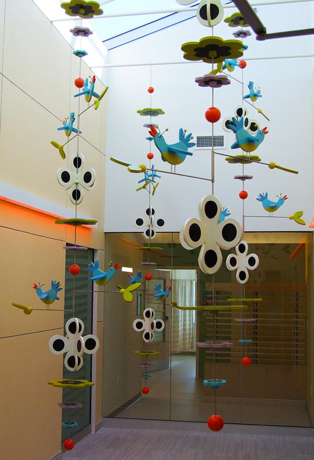 Bluebird Atrium East Tennessee Children's Hospital