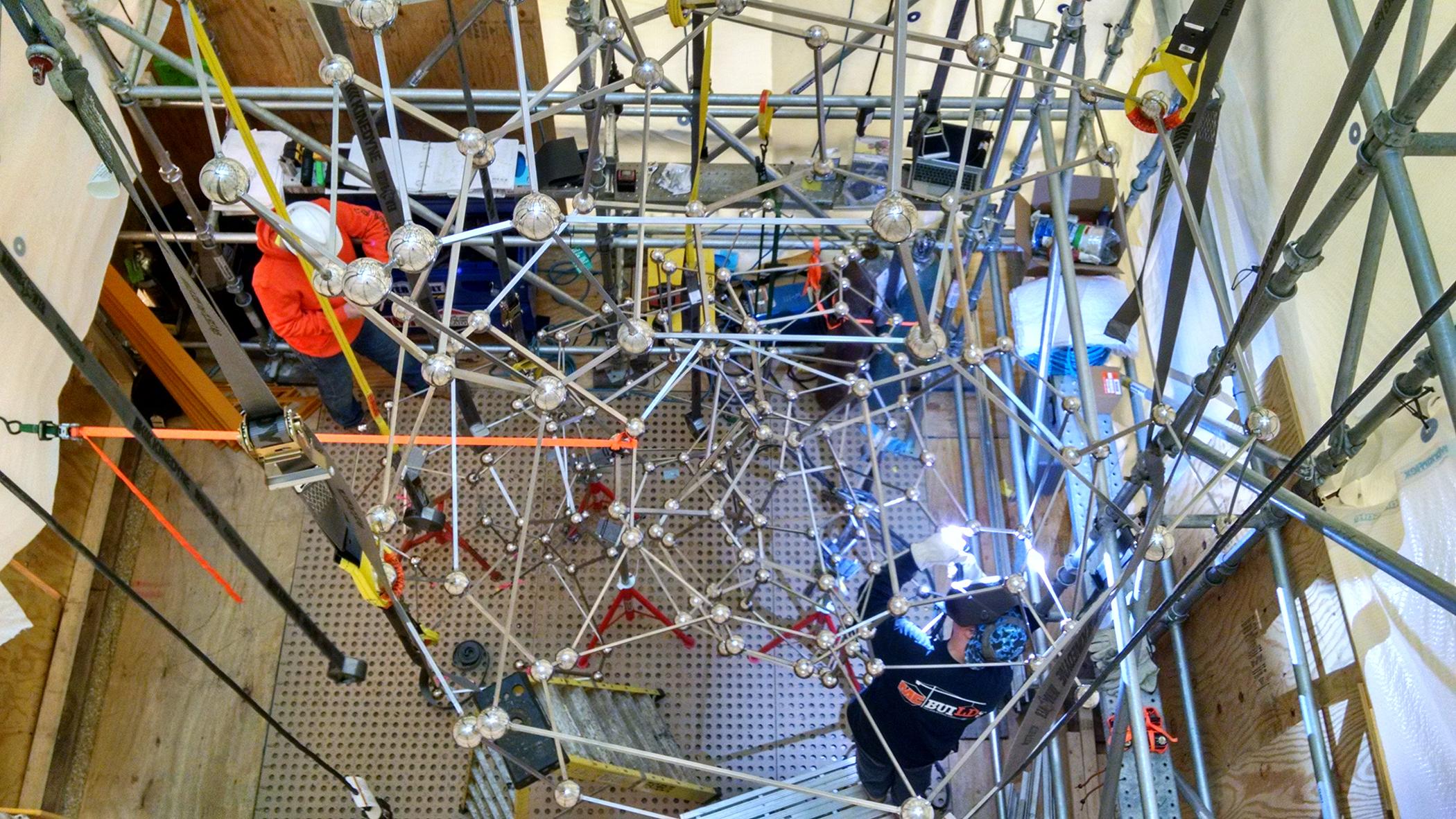 Antony Gormley Sculpture Fabrication & Installation