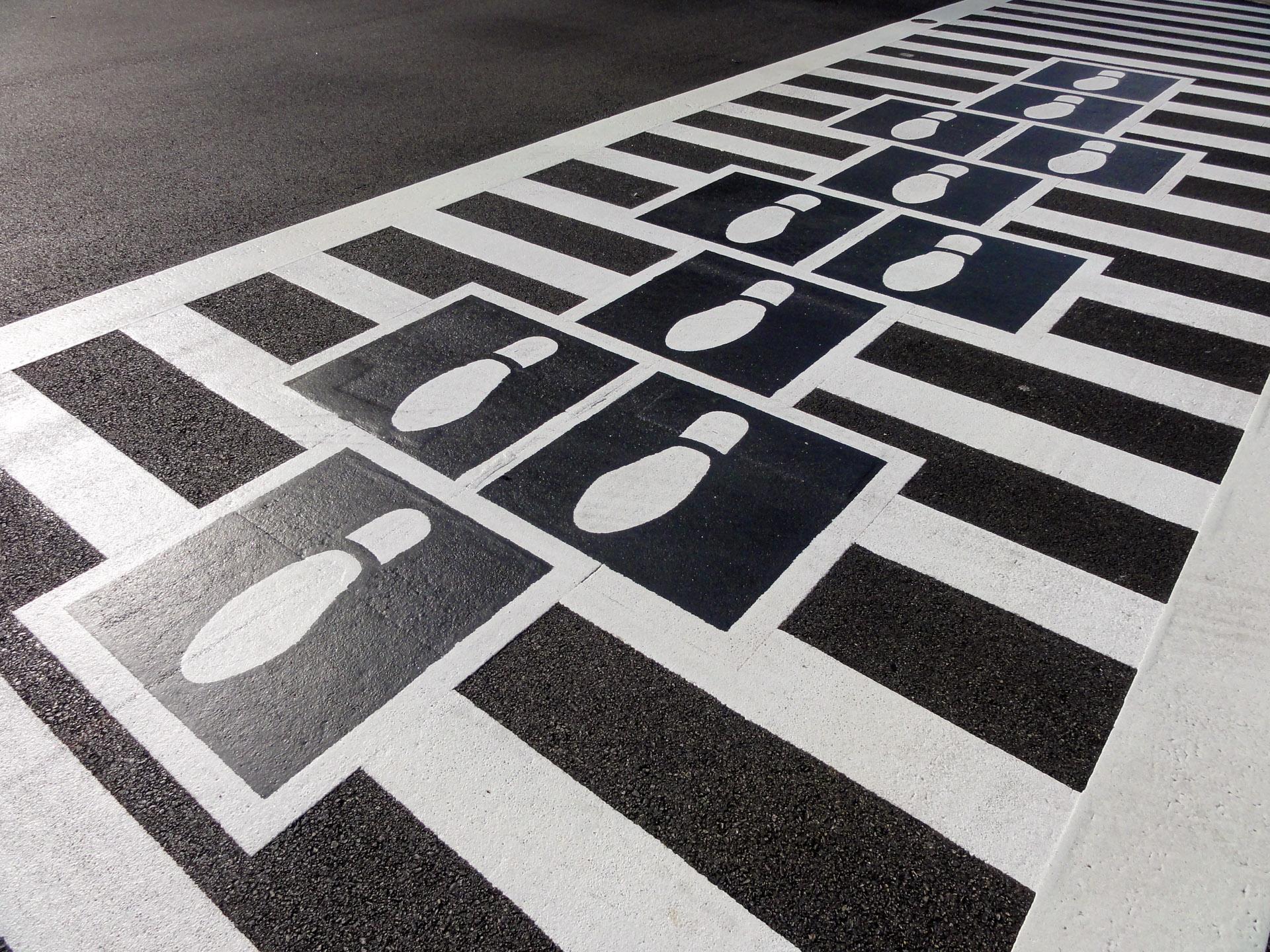 Hopscotch Crosswalks Colossus