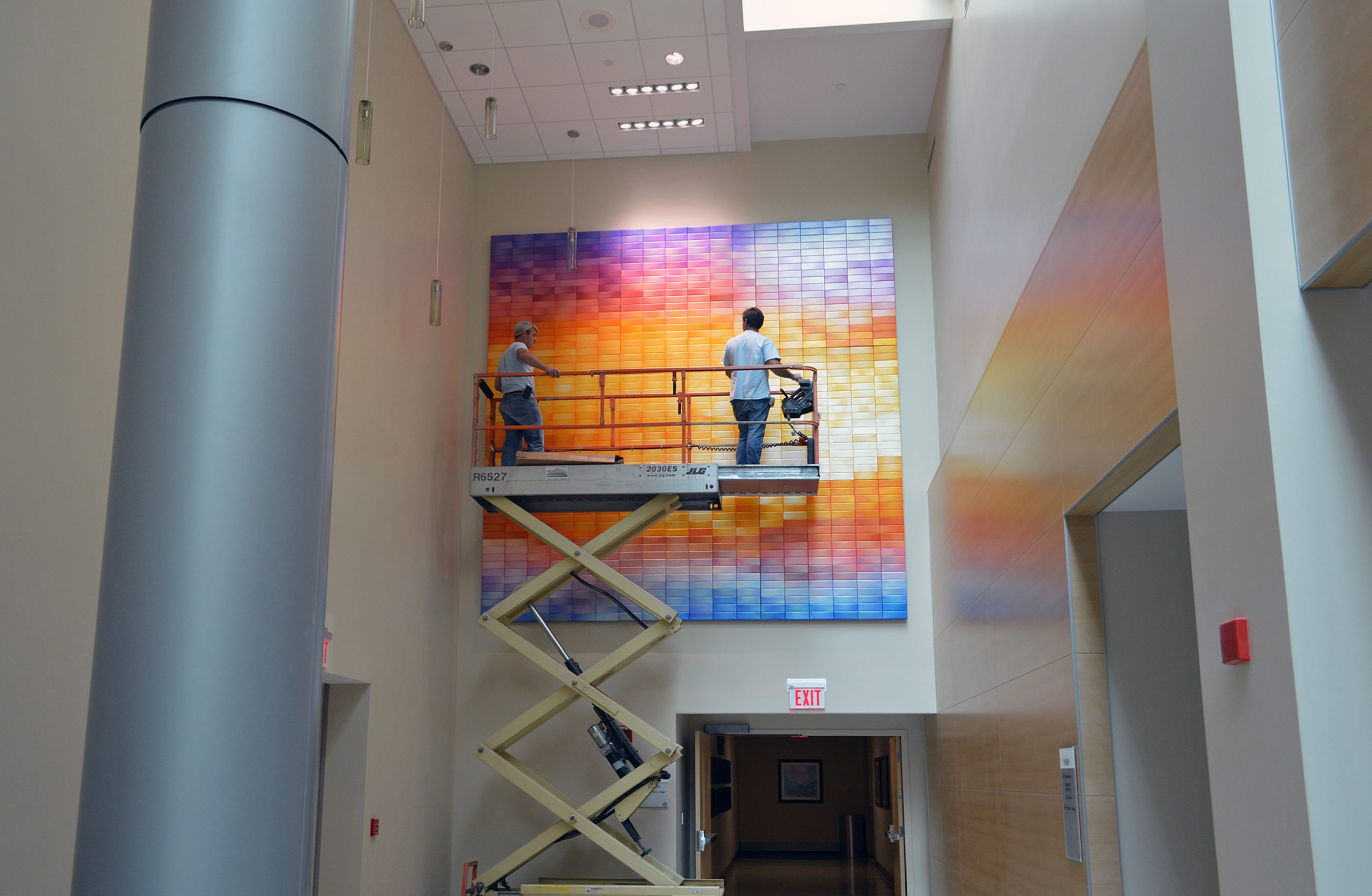 Large Wall Sculpture for Hospital