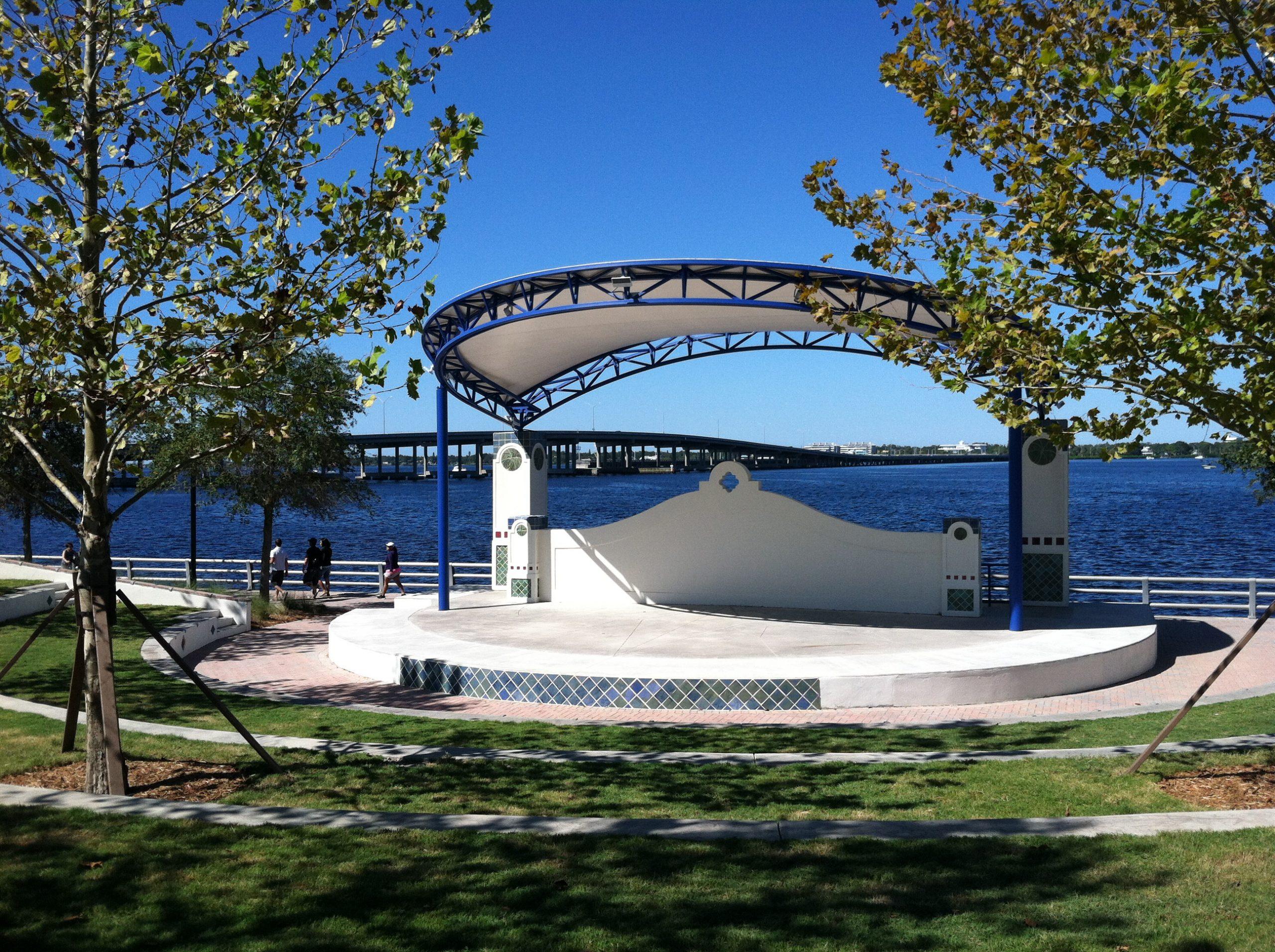 Bradenton Riverwalk Park Amphitheater